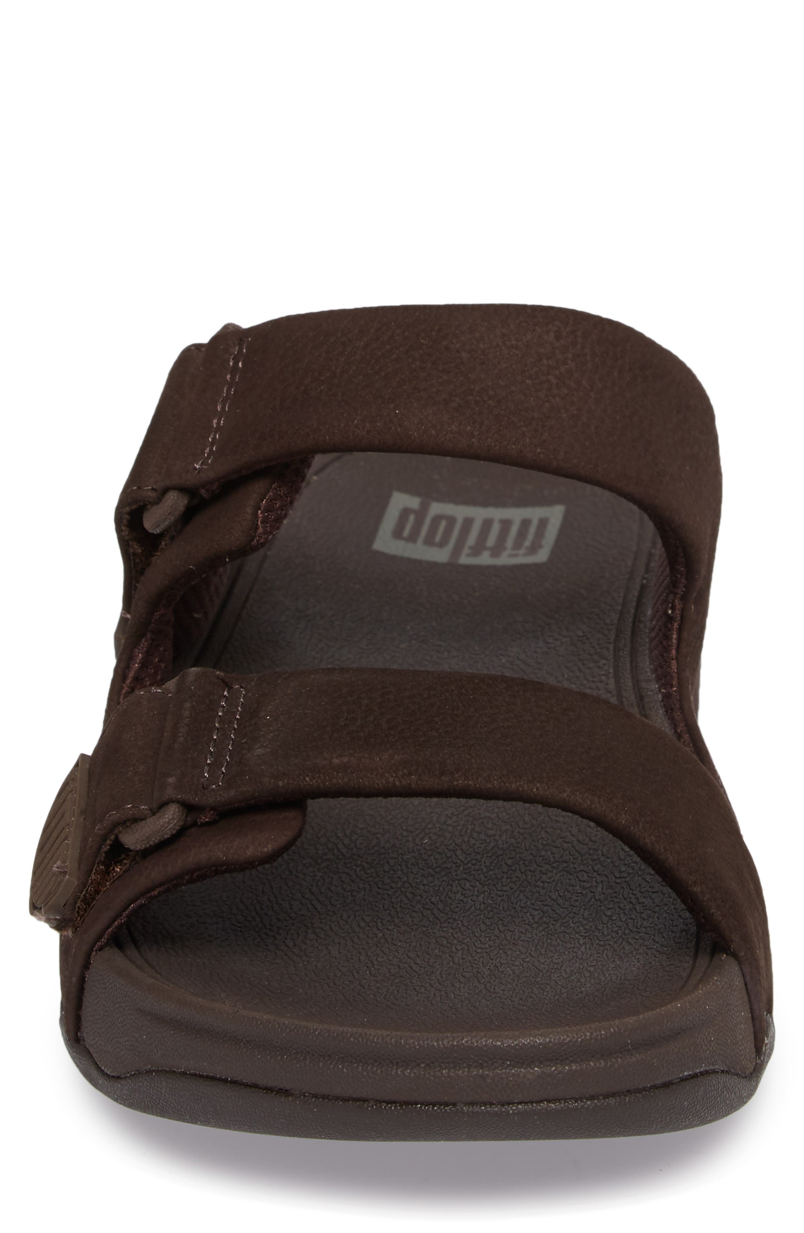 Gogh Sport Slide Sandal,                             Alternate thumbnail 4, color,                             Chocolate Brown