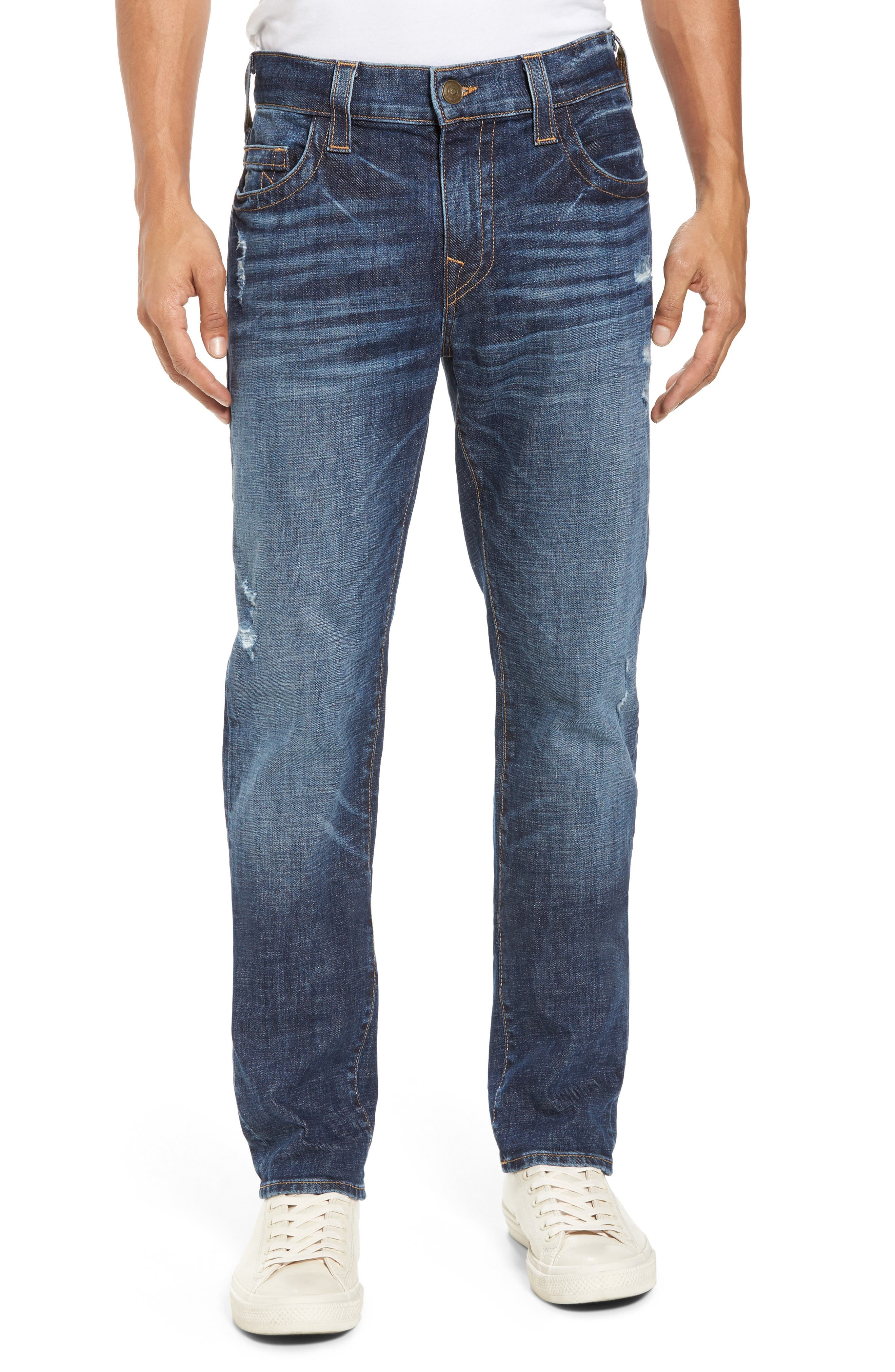 Rocco Skinny Fit Jeans,                             Main thumbnail 1, color,                             Dark Wash