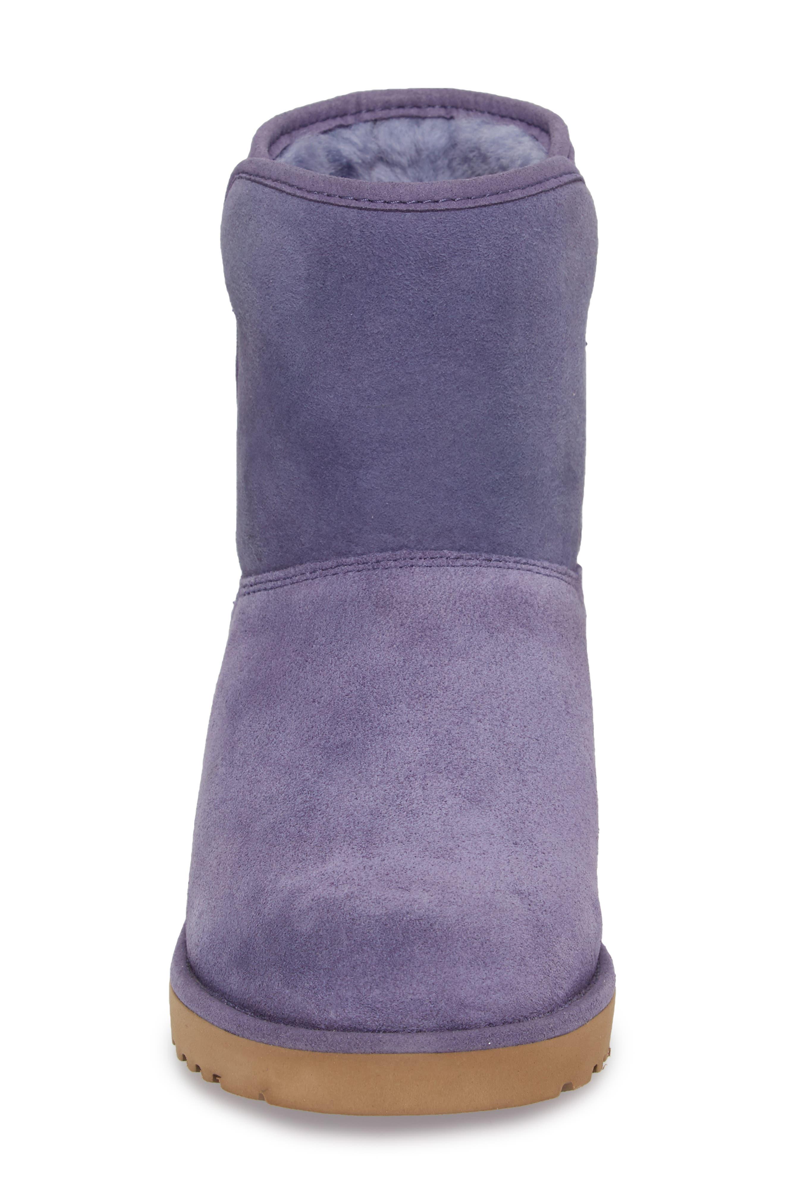 Alternate Image 4  - UGG® Kristin - Classic Slim™ Water Resistant Mini Boot (Women)