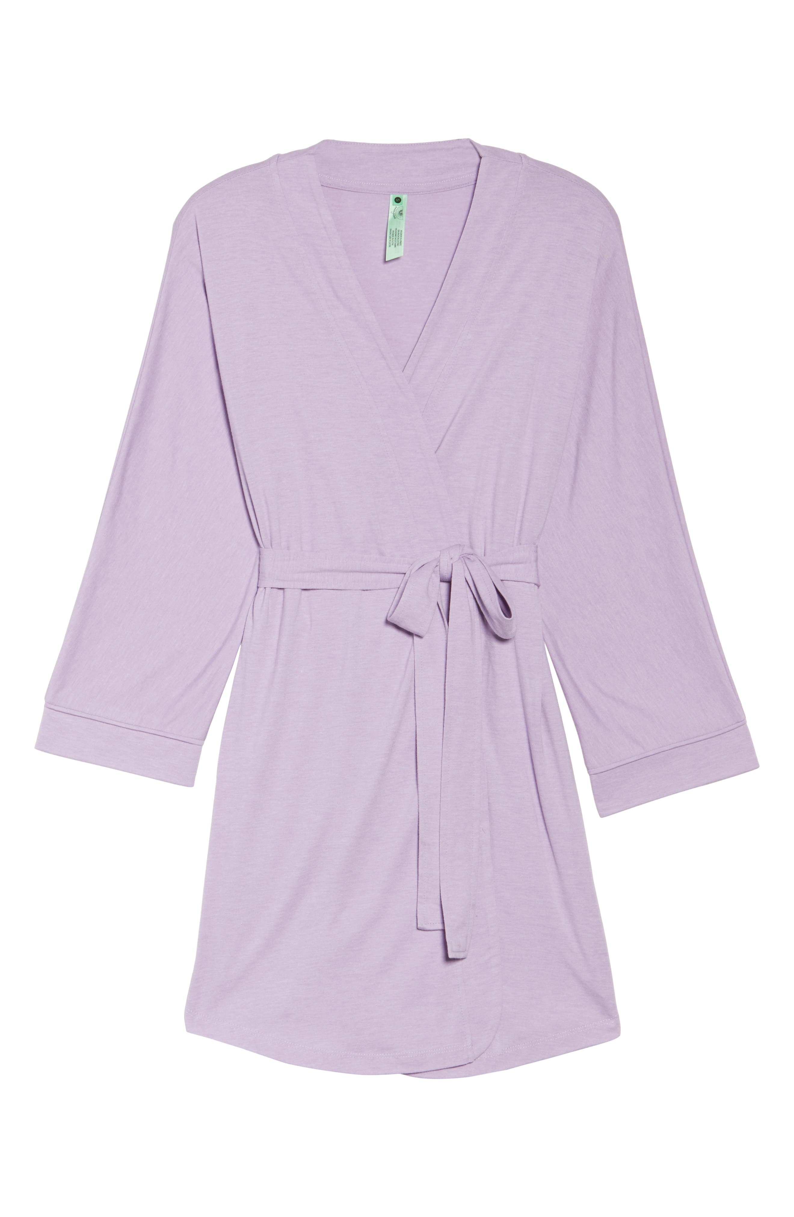 Alternate Image 4  - Honeydew Intimates All American Jersey Robe (2 for $60)