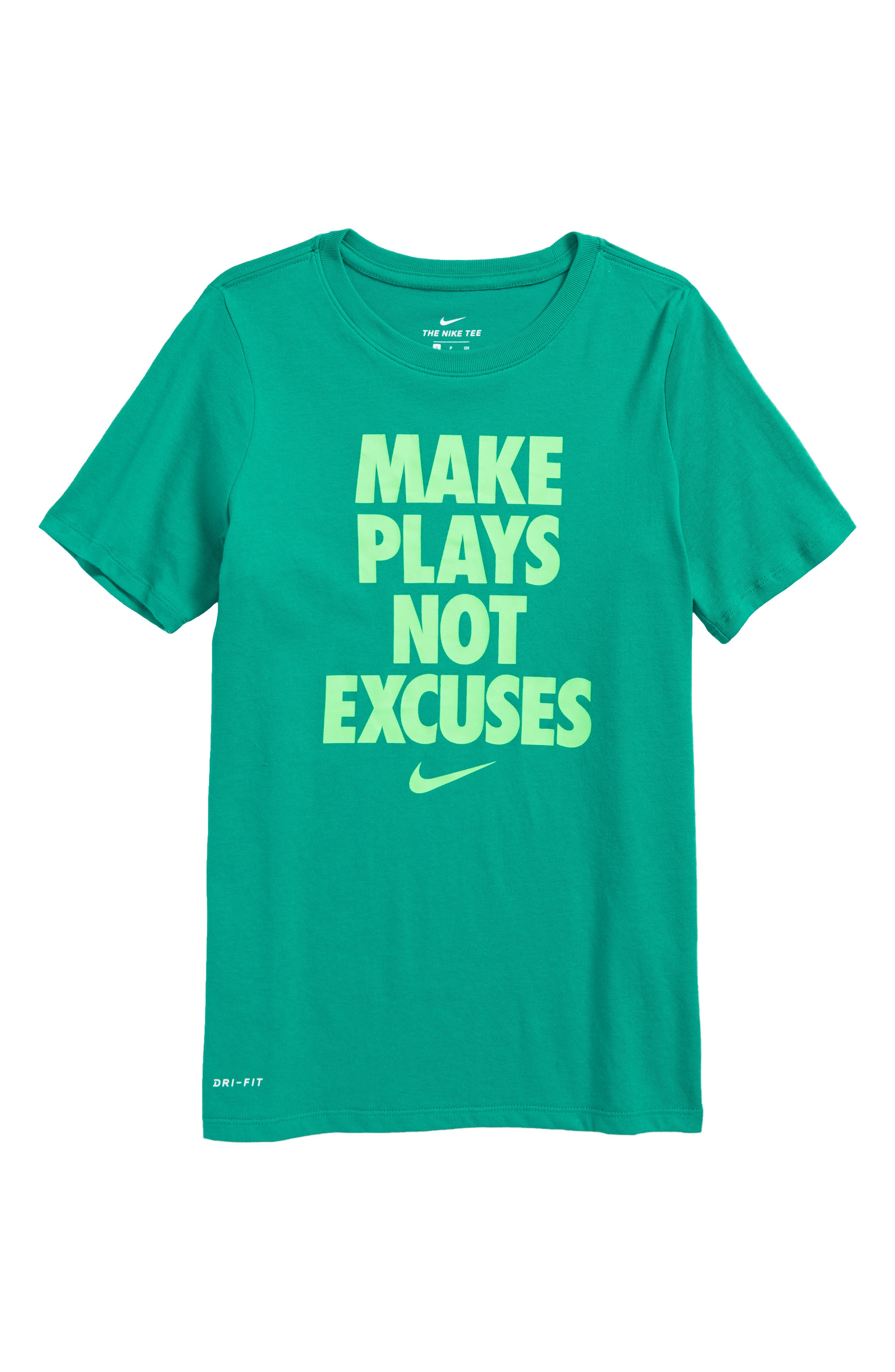 Dry Make Plays Graphic T-Shirt,                         Main,                         color, Green