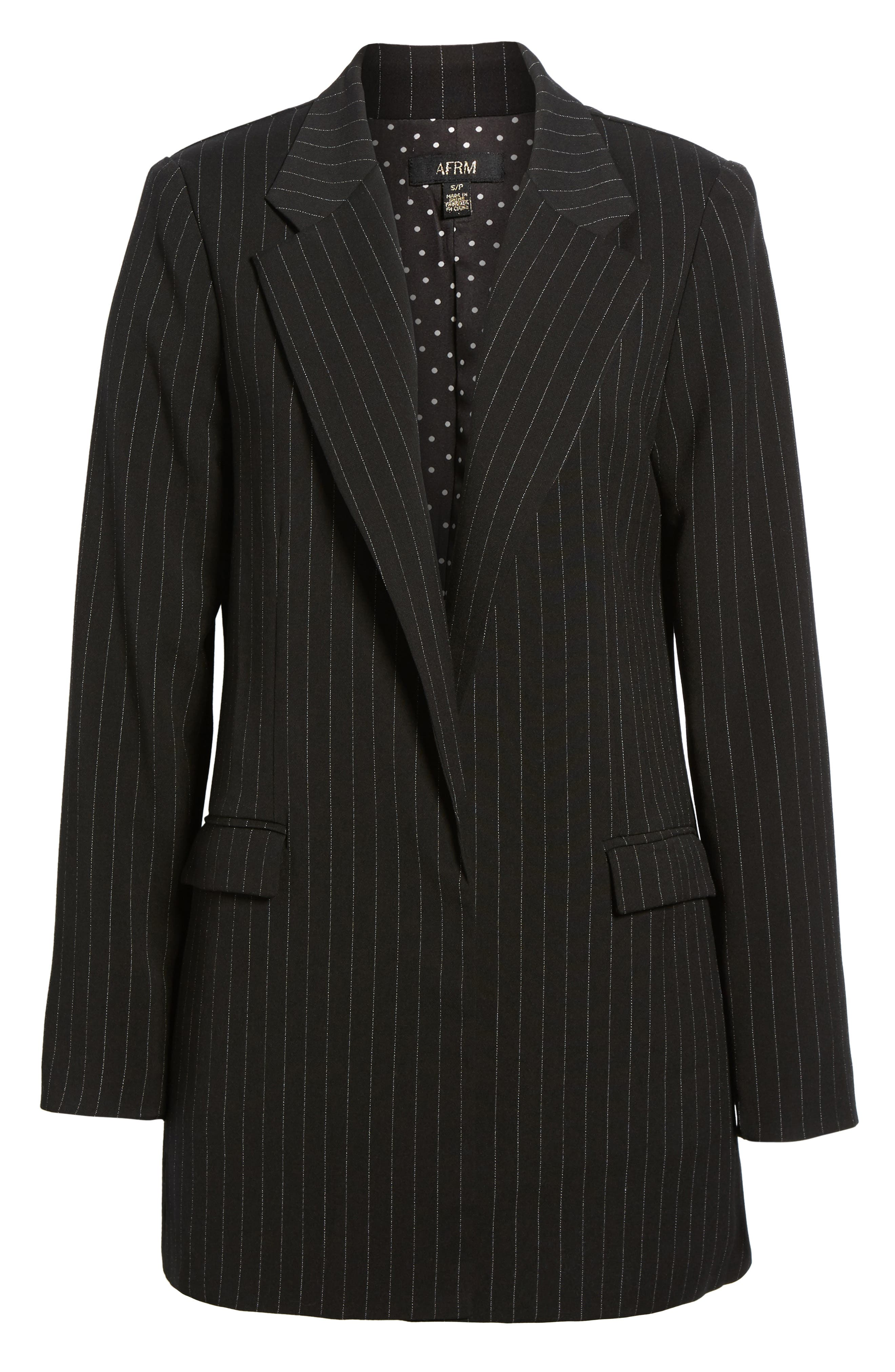Nova Oversize Blazer,                             Alternate thumbnail 6, color,                             Menswear Suiting