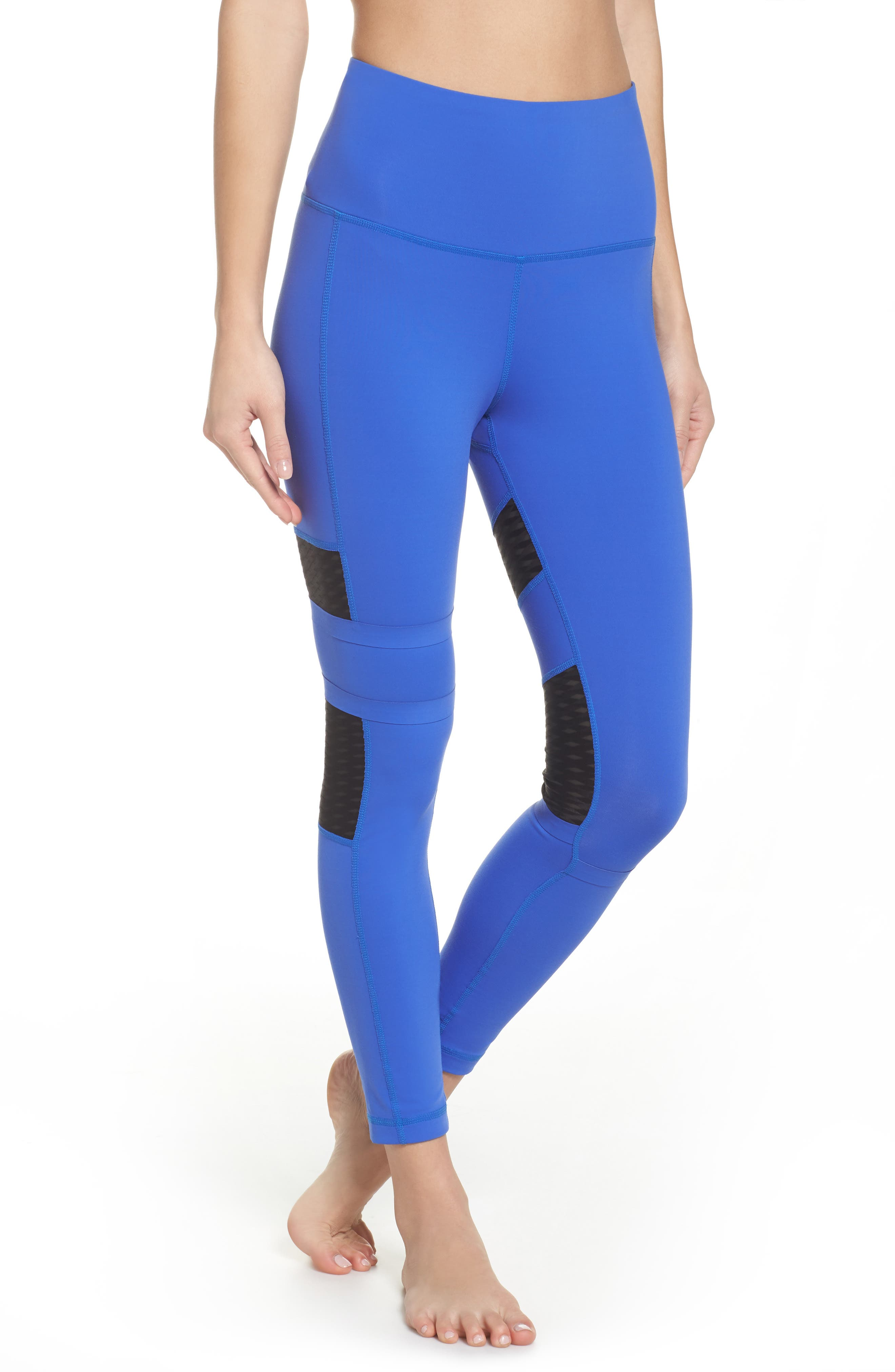 Reebok High Waist Mesh Tights