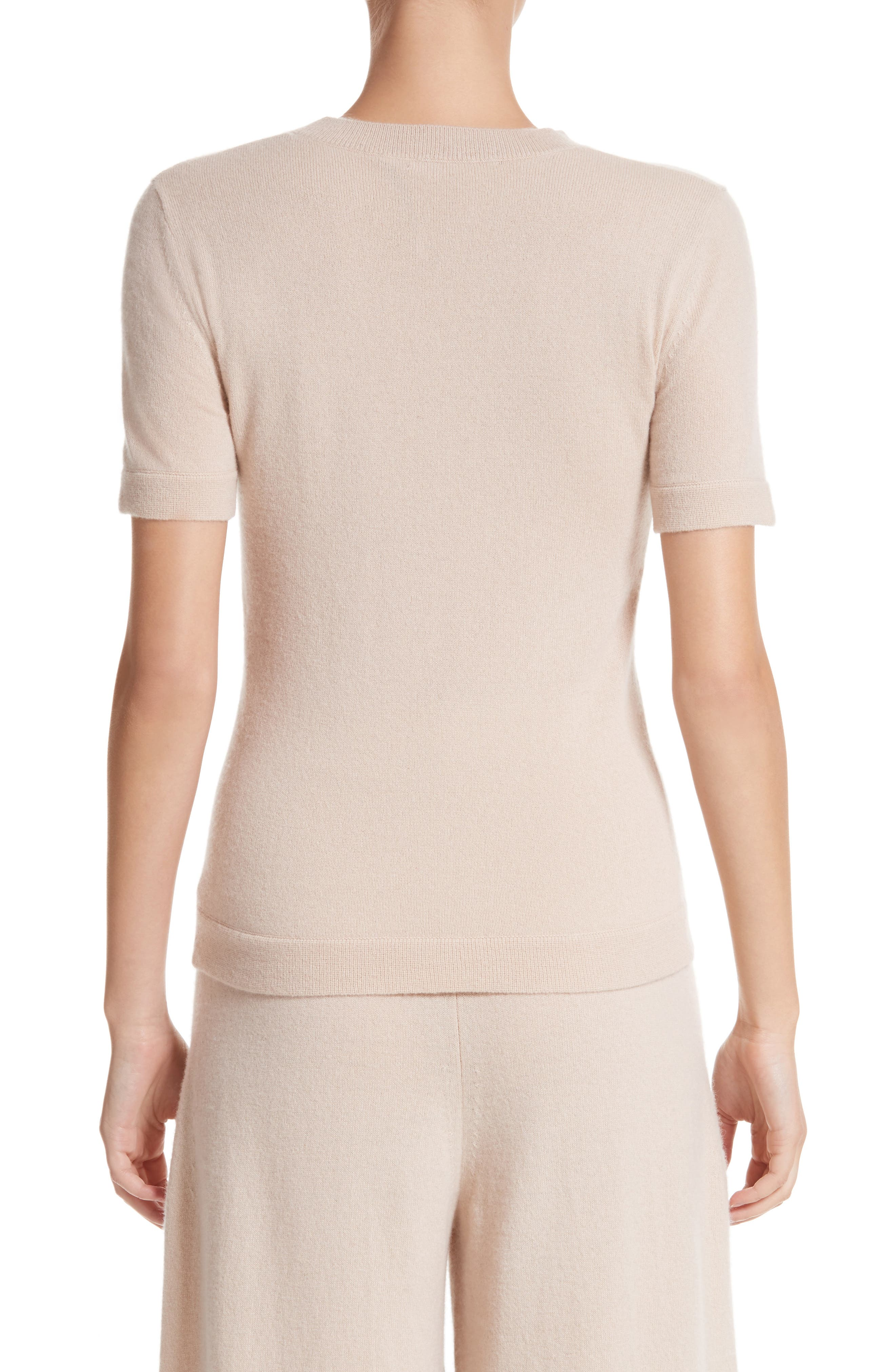 Cashmere Tee,                             Alternate thumbnail 2, color,                             Fawn
