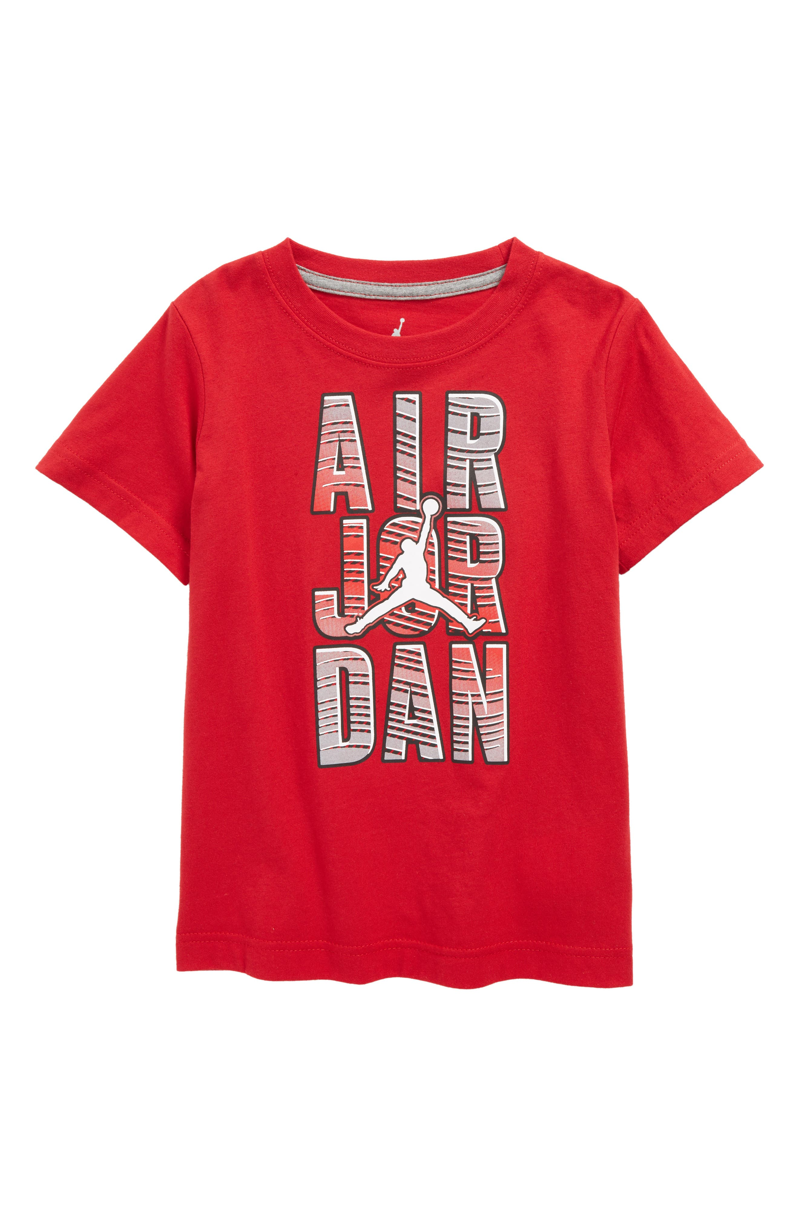 Jordan Reveal Graphic T-Shirt,                         Main,                         color, Gym Red