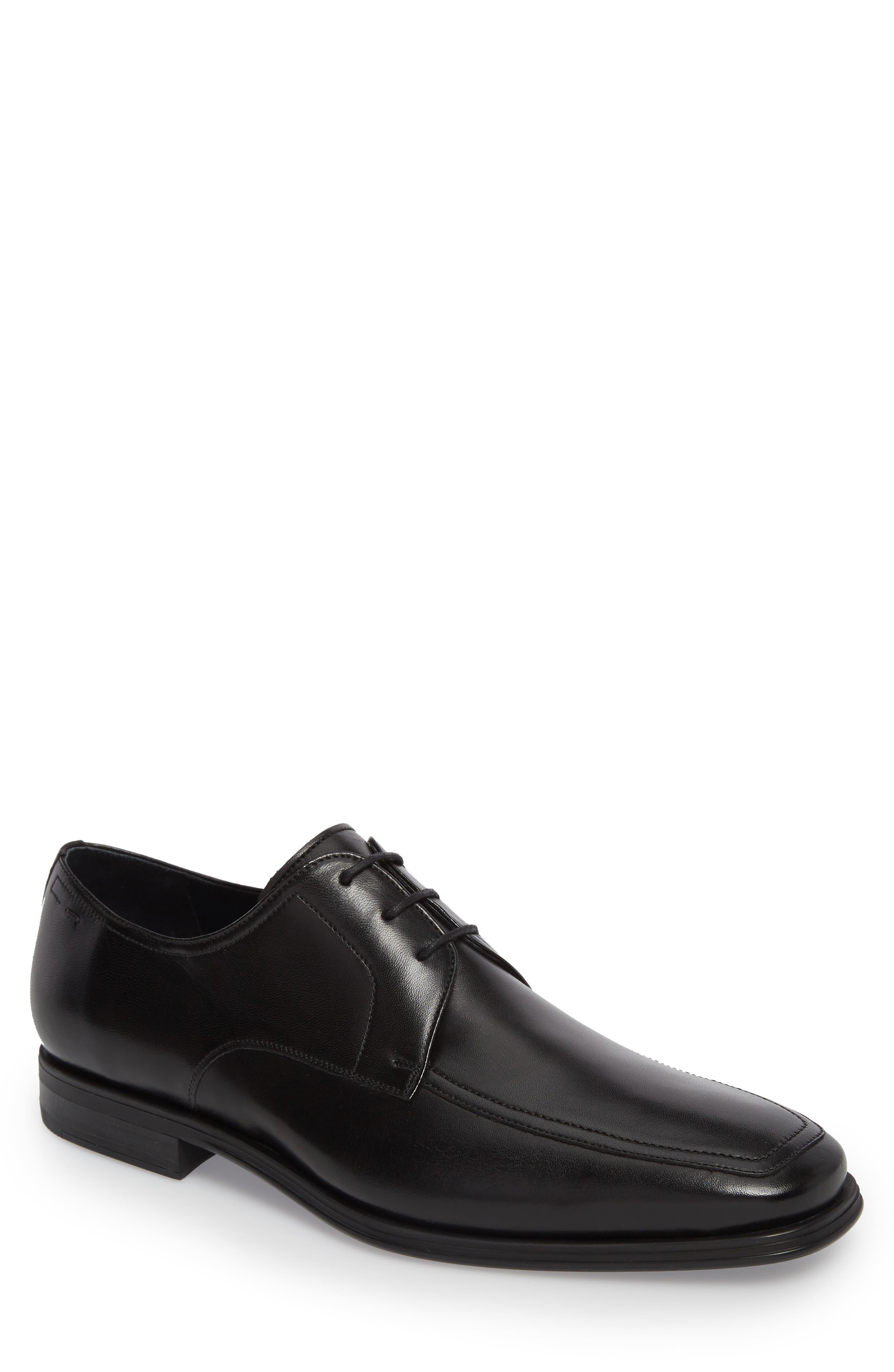 MAGNANNI Men'S Antonio Leather Lace-Up Oxfords in Black