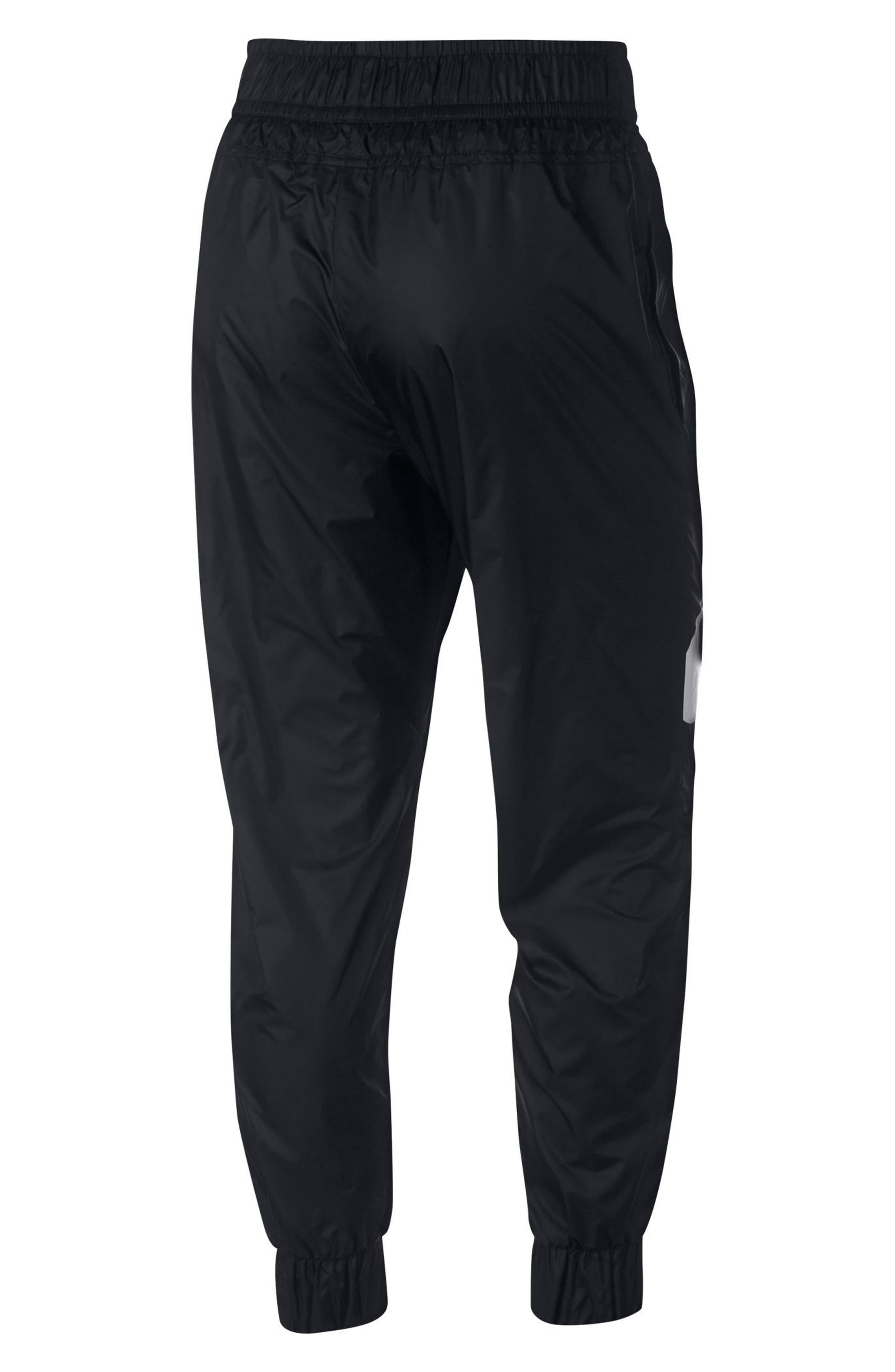 Sportswear Windrunner Women's Pants,                             Alternate thumbnail 2, color,                             Black/ Black/ Obsidian/ White