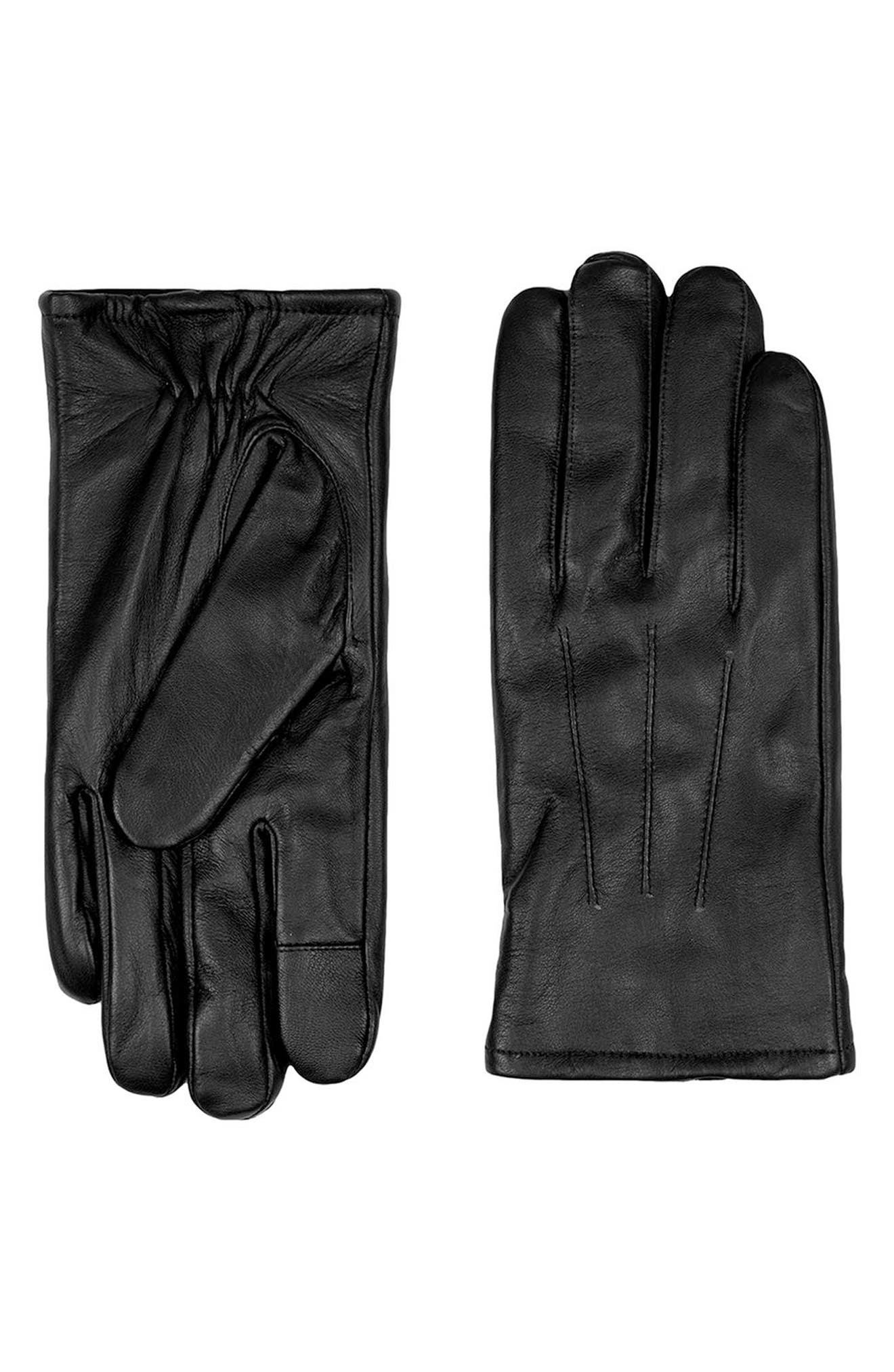 Alternate Image 1 Selected - Topman Leather Gloves