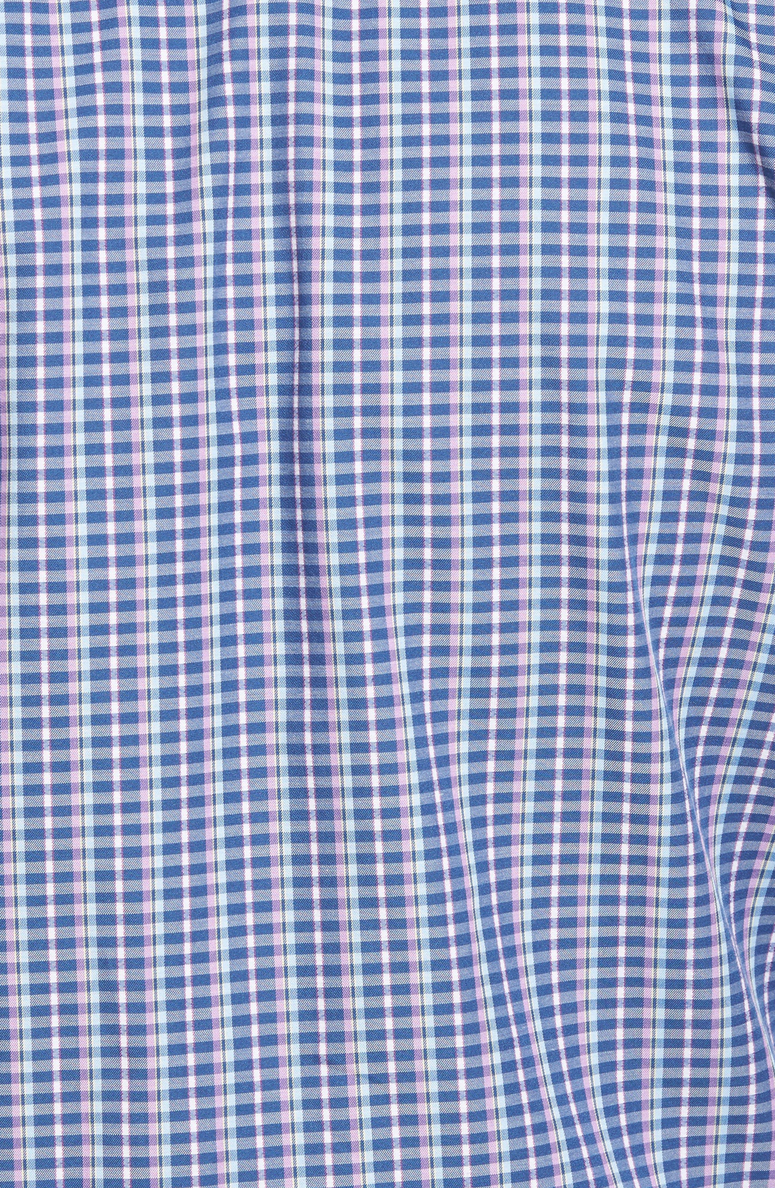 Alternate Image 5  - Tommy Bahama Cypress Cove Classic Fit Plaid Sport Shirt