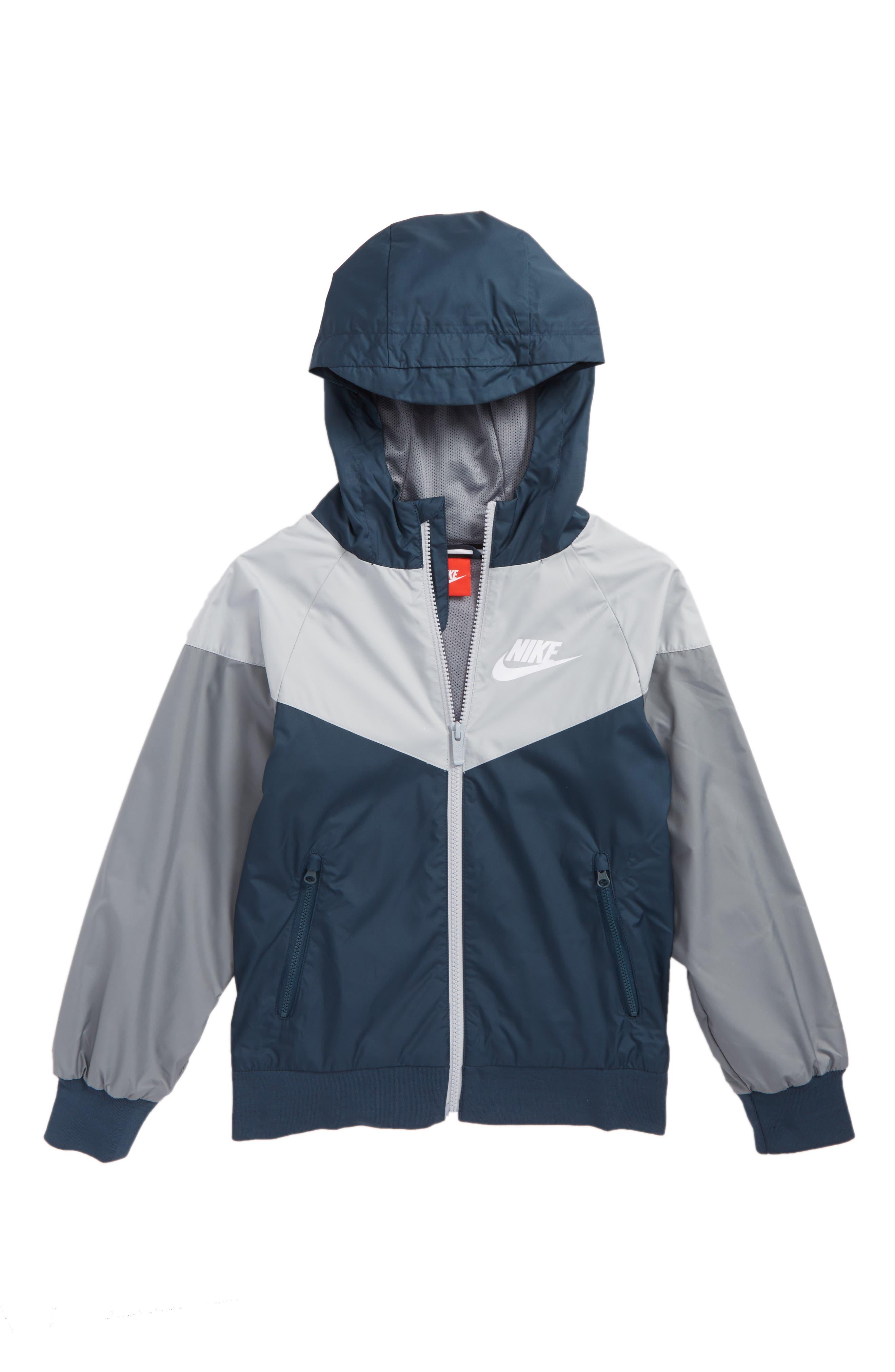 Main Image - Nike Windrunner Water Resistant Hooded Jacket (Little Boys & Big Boys)