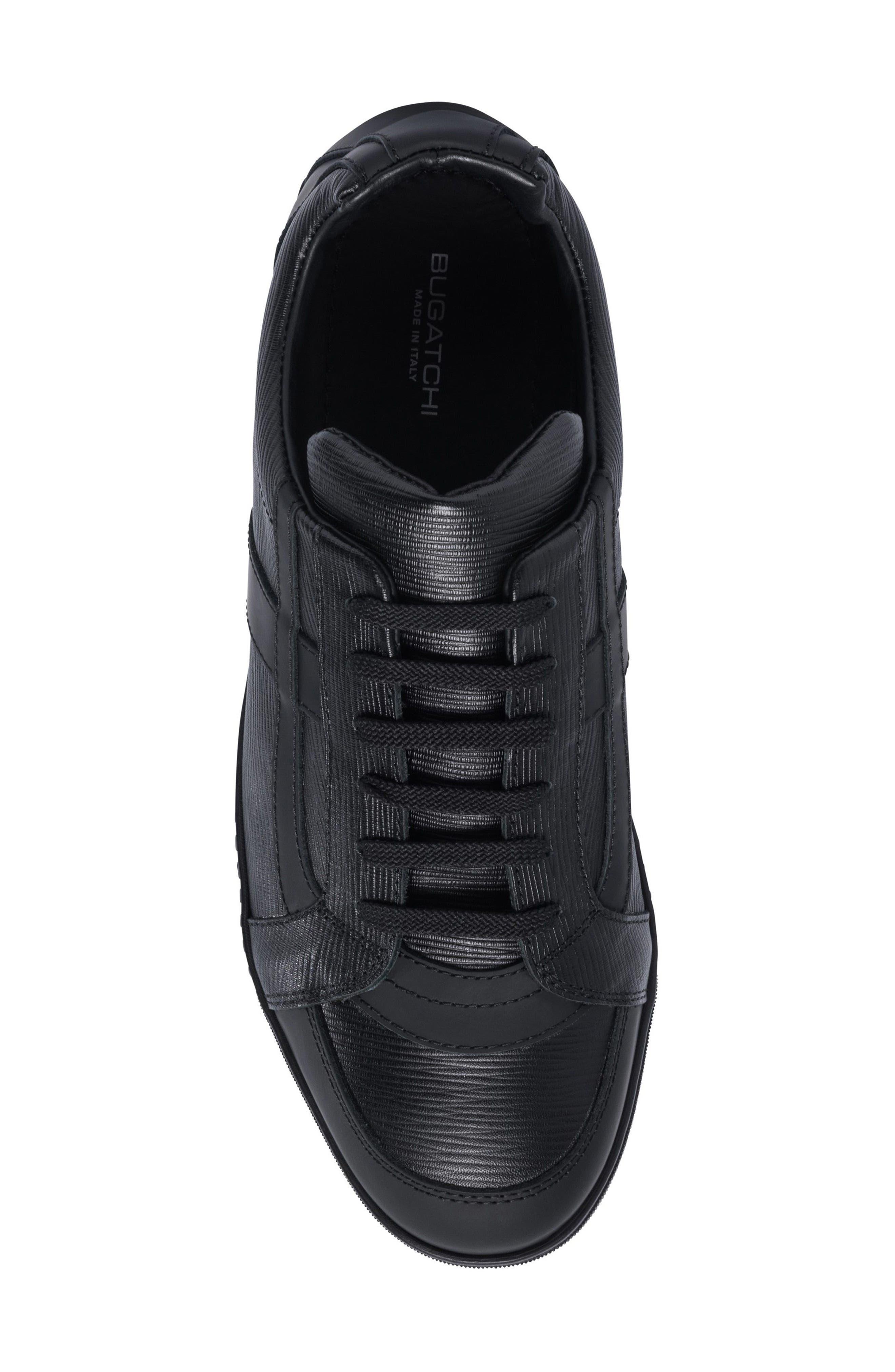 Novecento Sneaker,                             Alternate thumbnail 4, color,                             Navy Leather