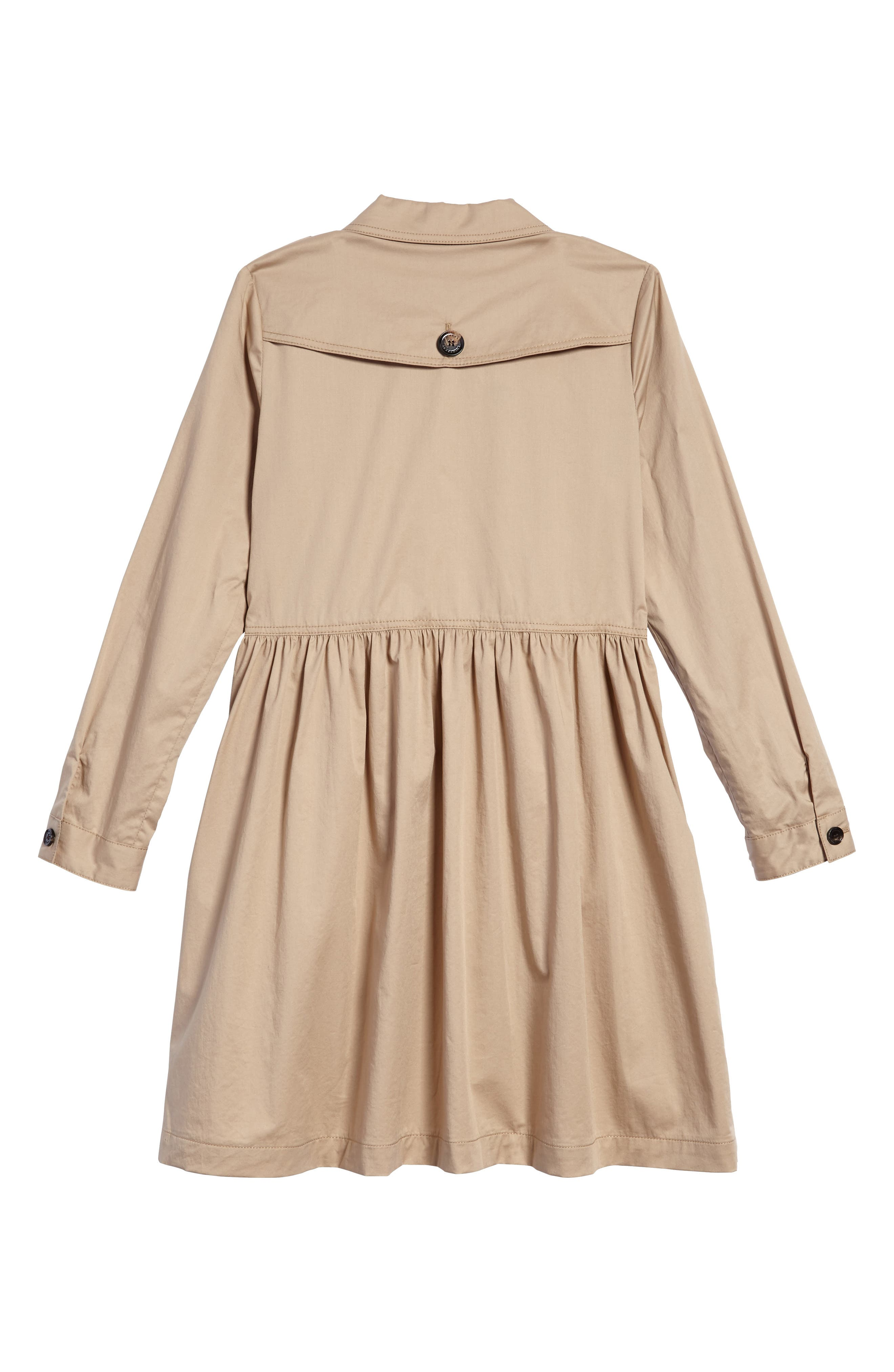 Alternate Image 2  - Burberry Lillyana Trench Dress (Little Girls & Big Girls)