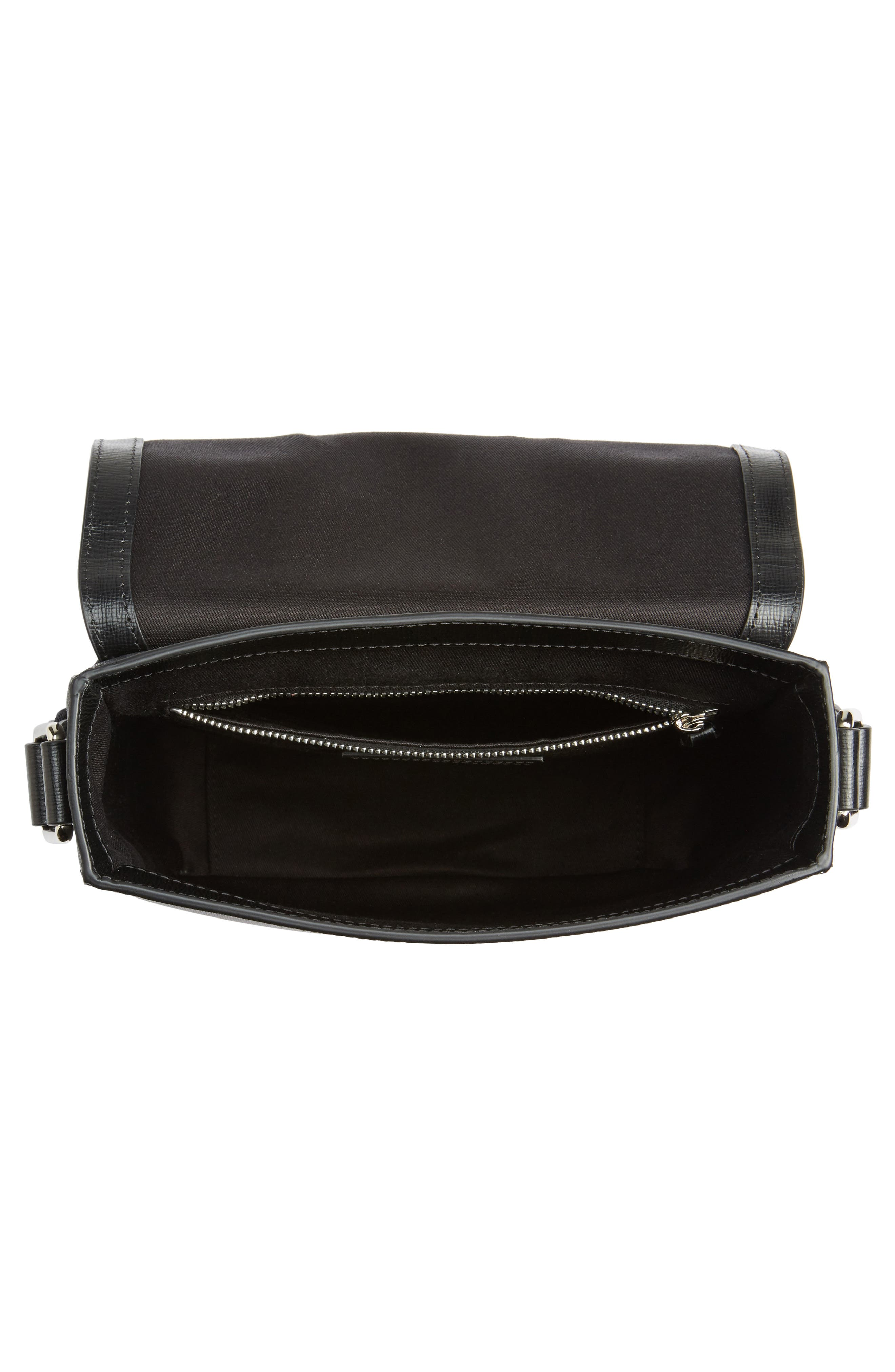 Greenford Crossbody Bag,                             Alternate thumbnail 4, color,                             Charcoal/ Black