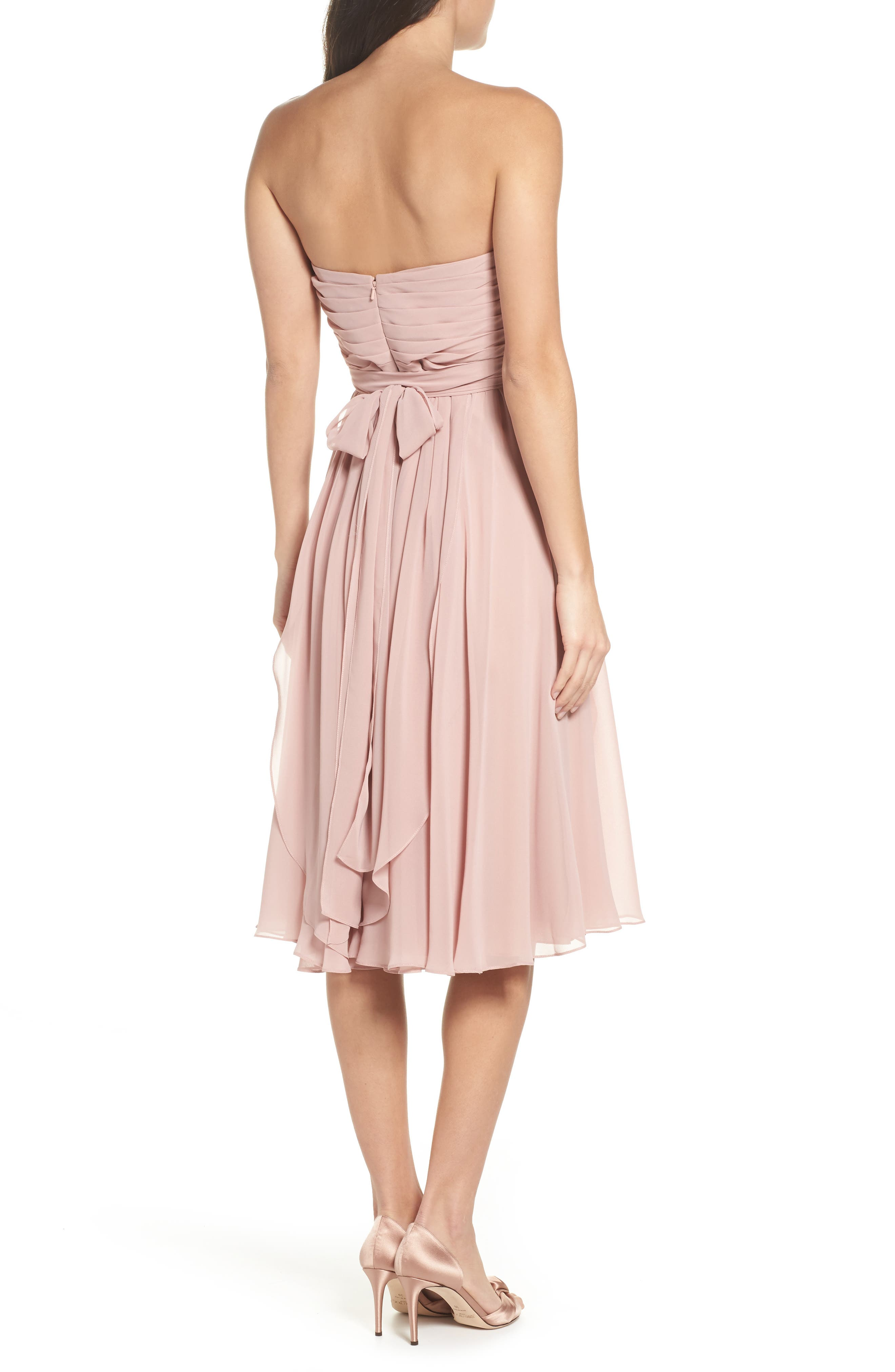 Mid length bridesmaid wedding party dresses nordstrom ombrellifo Gallery