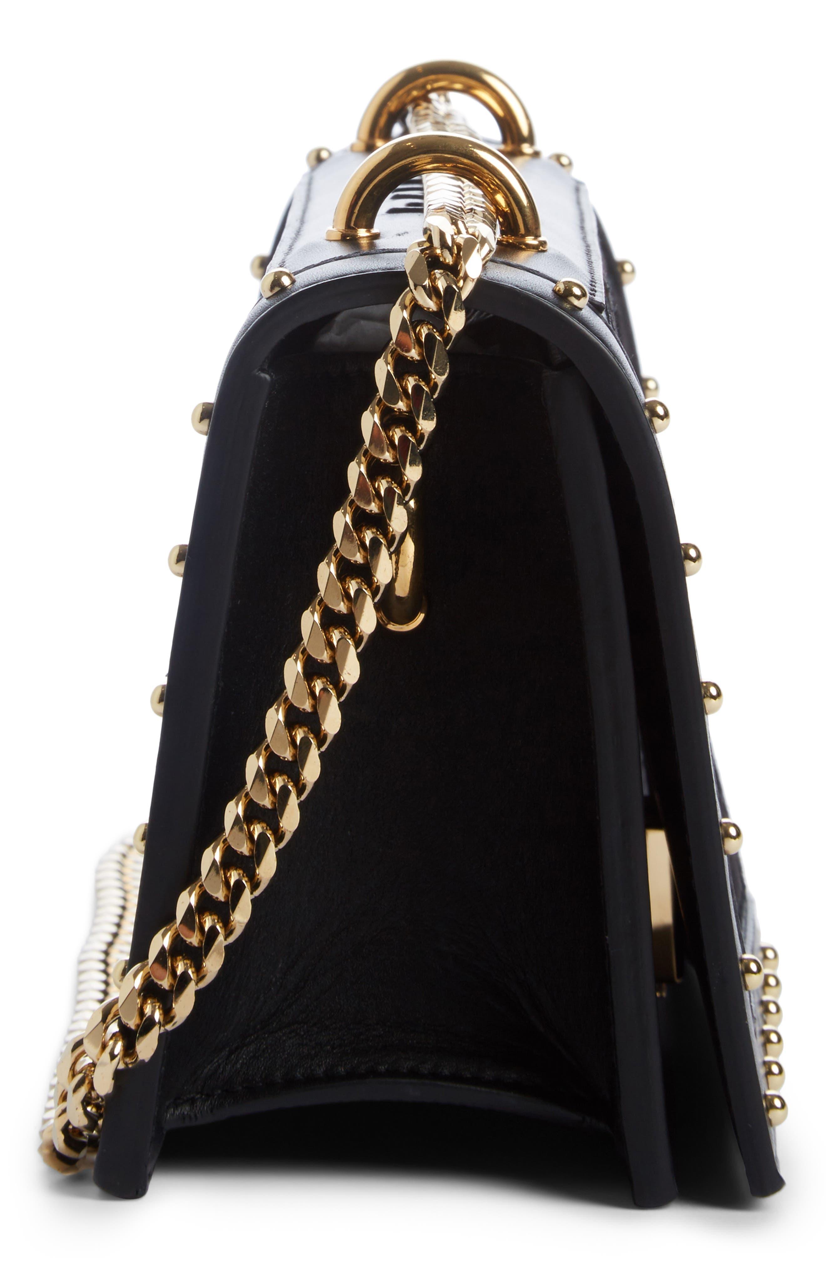 Alternate Image 3  - Balmain Love Logo Leather Shoulder Bag