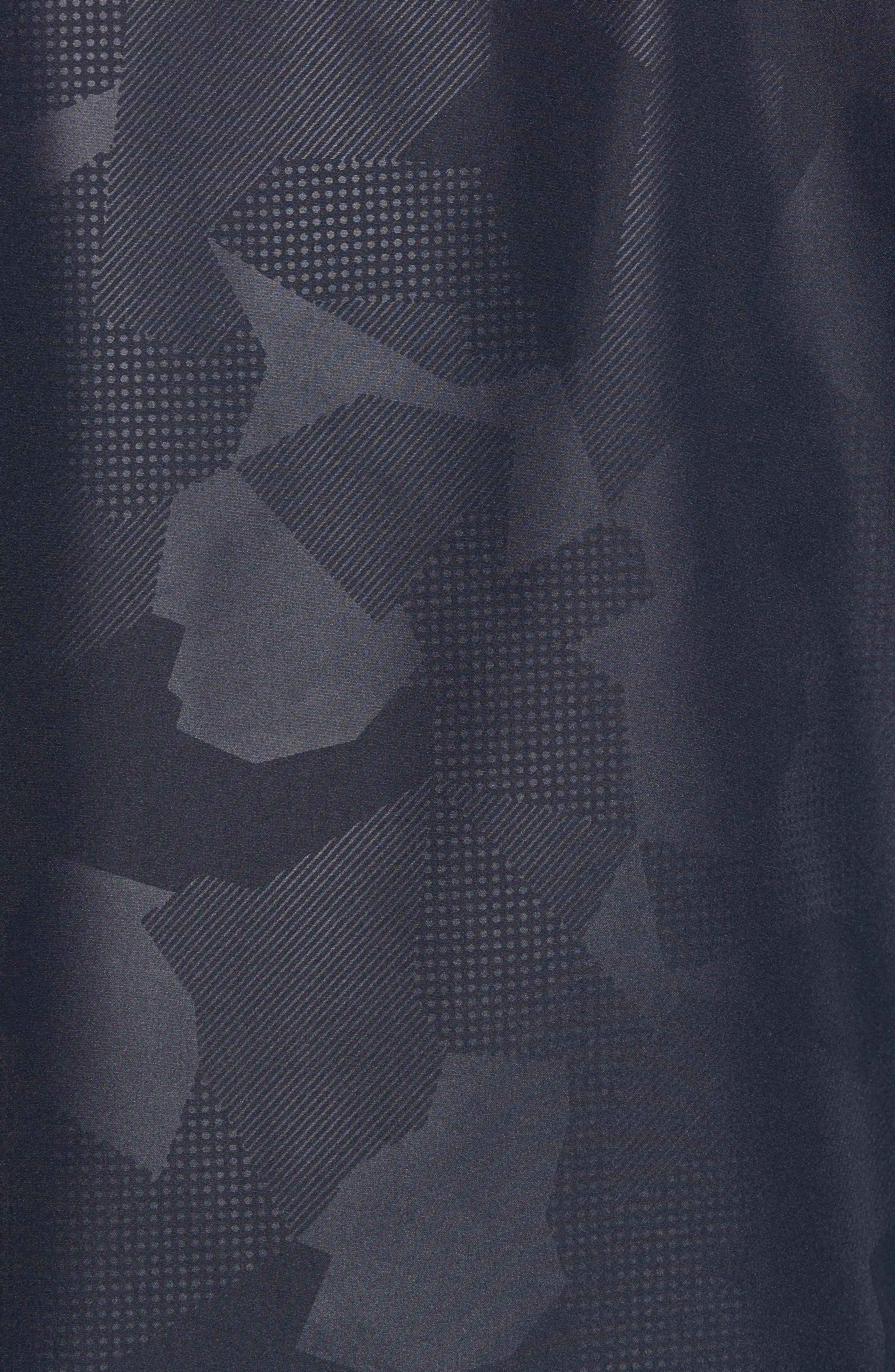 John Rich & Bros. Atlantic Camo Hooded Jacket,                             Alternate thumbnail 5, color,                             Melton Blue Camo