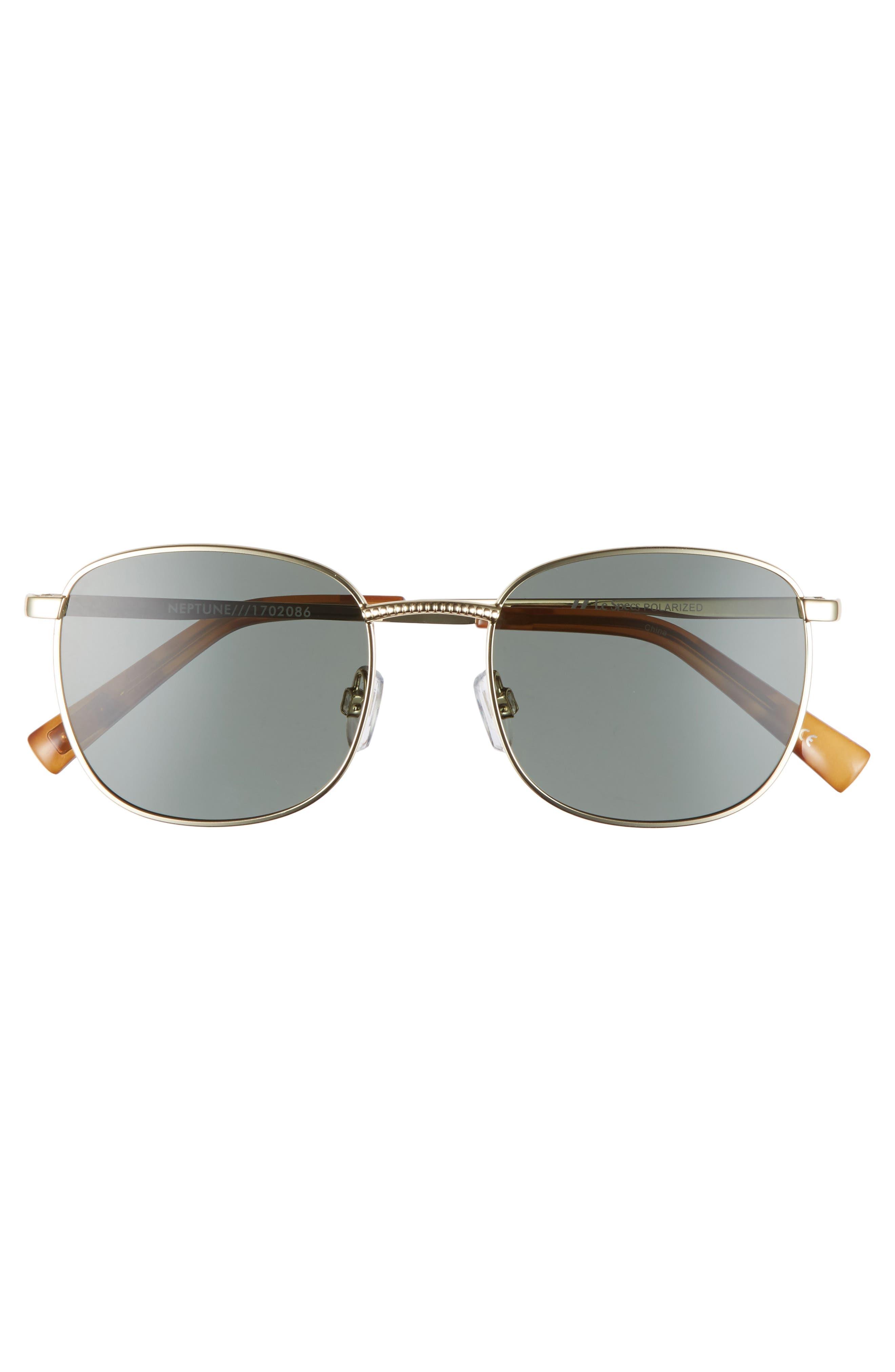 Neptune 49mm Sunglasses,                             Alternate thumbnail 3, color,                             Bright Gold