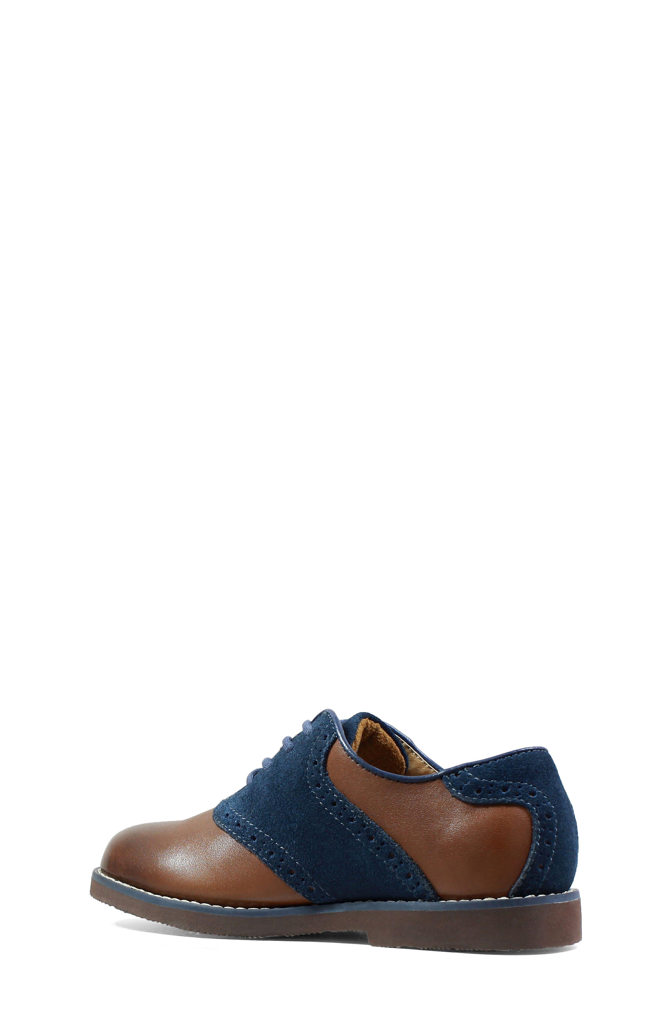Alternate Image 2  - Florsheim 'Kennett Jr. II' Saddle Shoe (Toddler, Little Kid & Big Kid)