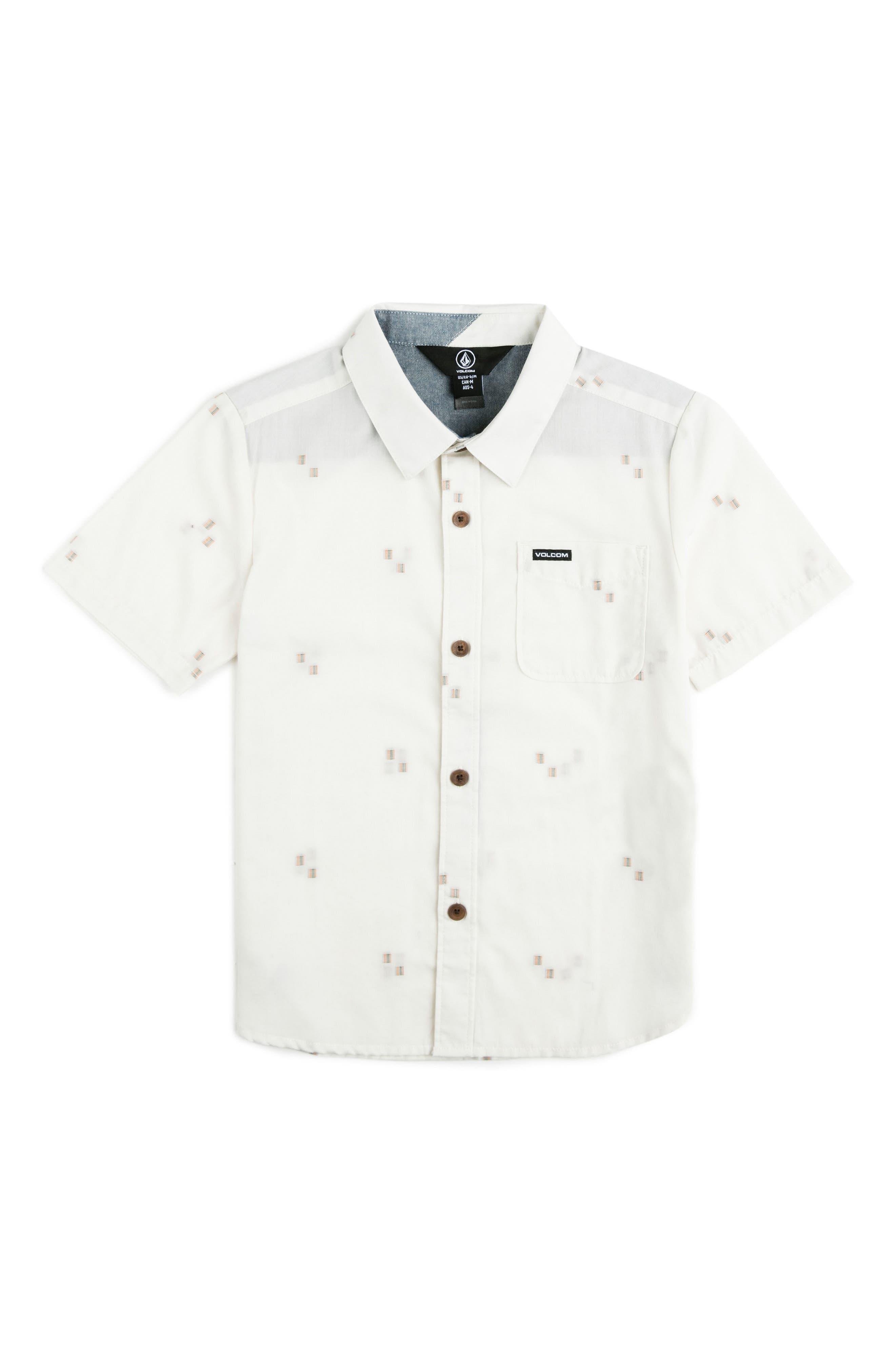 Alternate Image 1 Selected - Volcom Floyd Woven Shirt (Toddler Boys & Little Boys)
