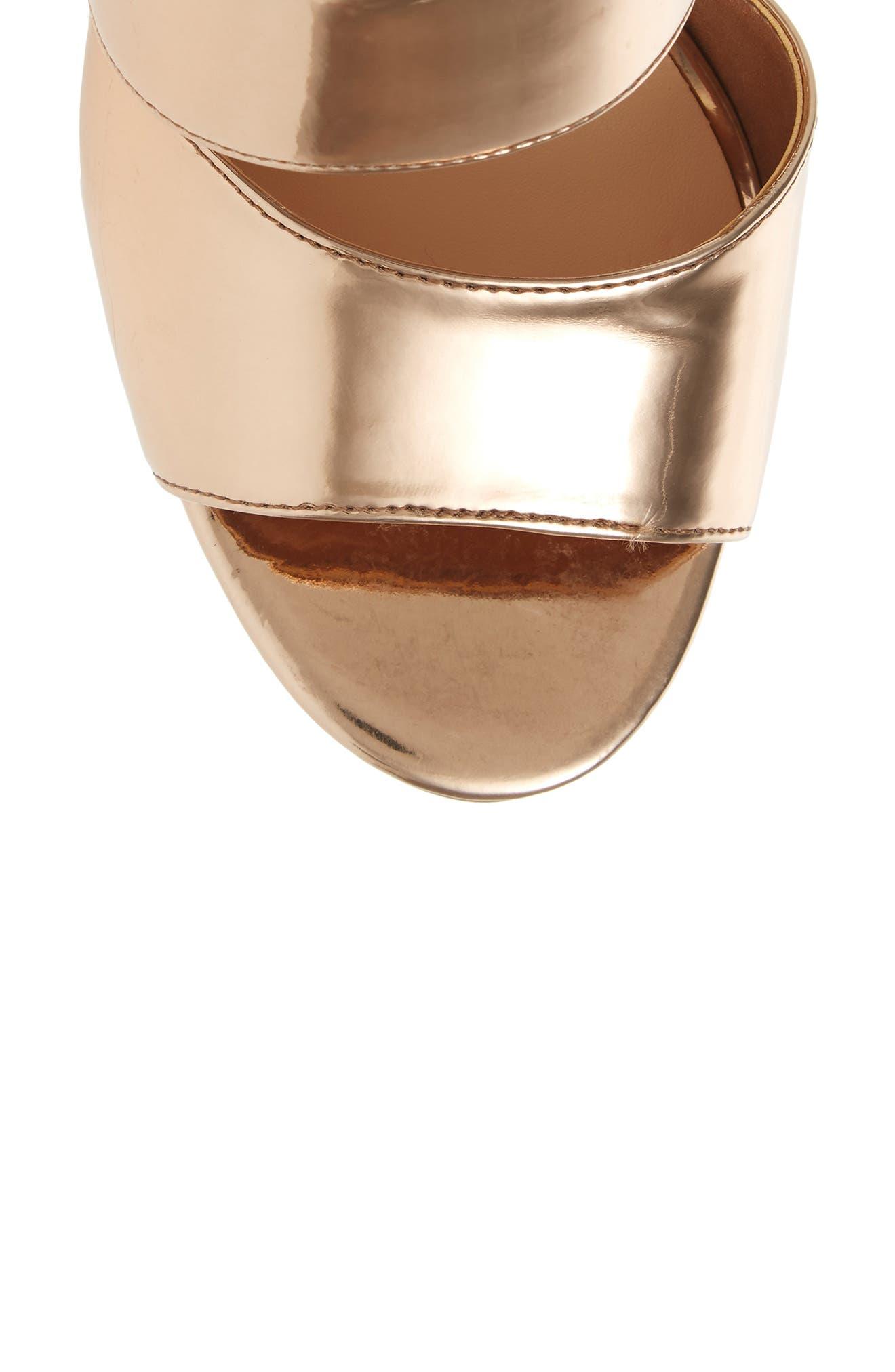 Alternate Image 5  - BP. Allie Asymmetrical Cage Sandal (Women)