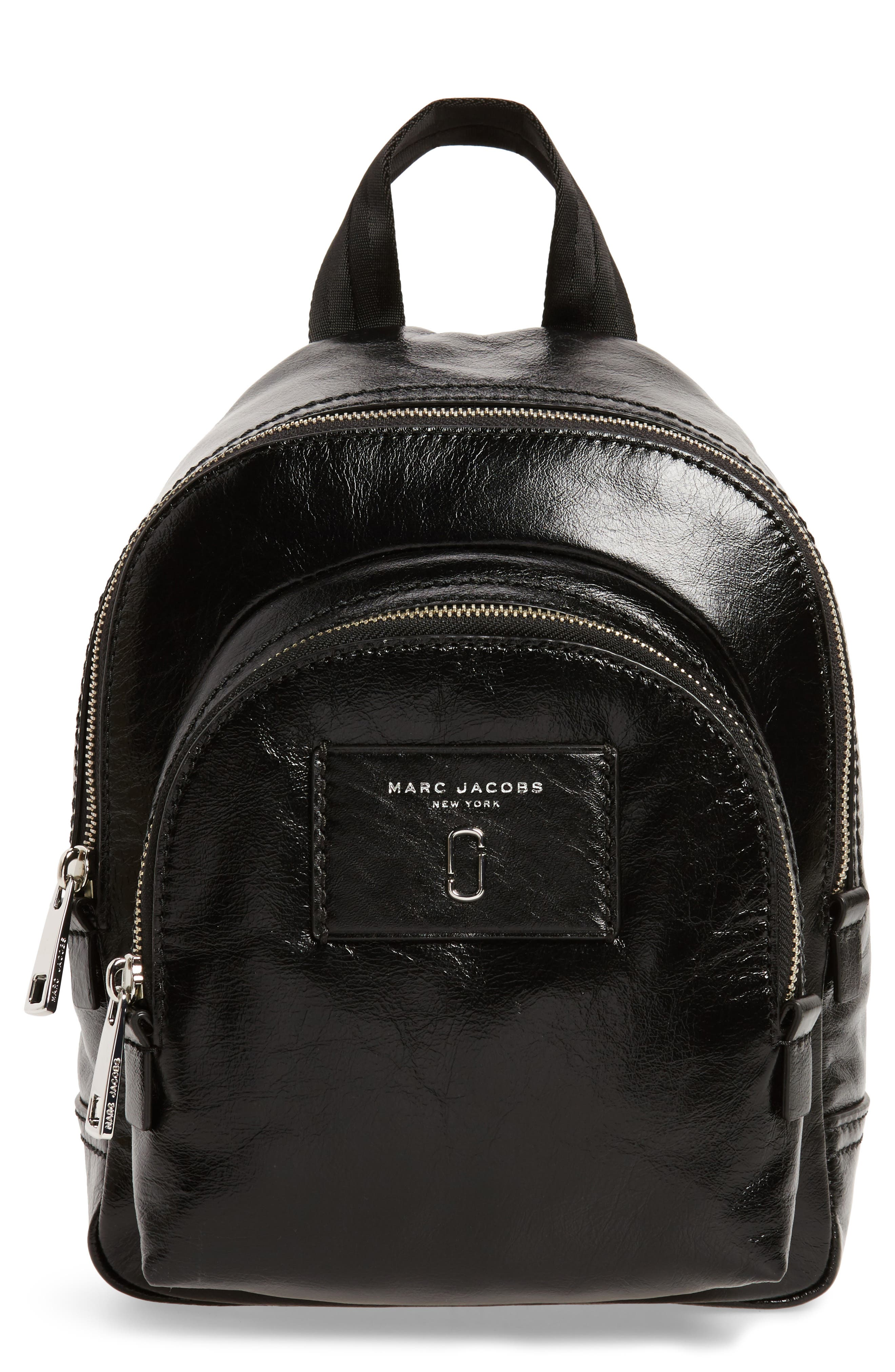 Alternate Image 1 Selected - MARC JACOBS Mini Double Pack Leather Backpack