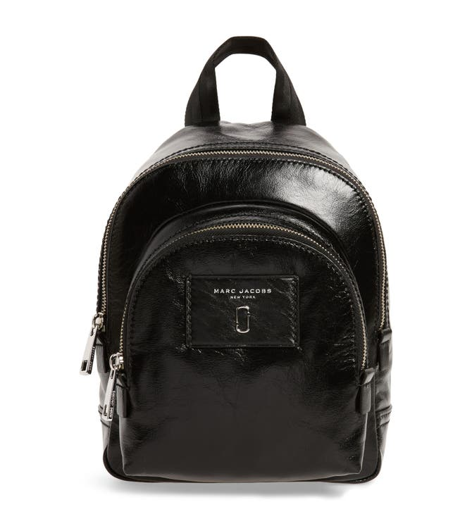 9a17fb3dc50 Marc Jacobs Mini Double Pack Leather Backpack Nordstrom. Lyst Marc By Jacobs  Mariska Leather Backpack In Black