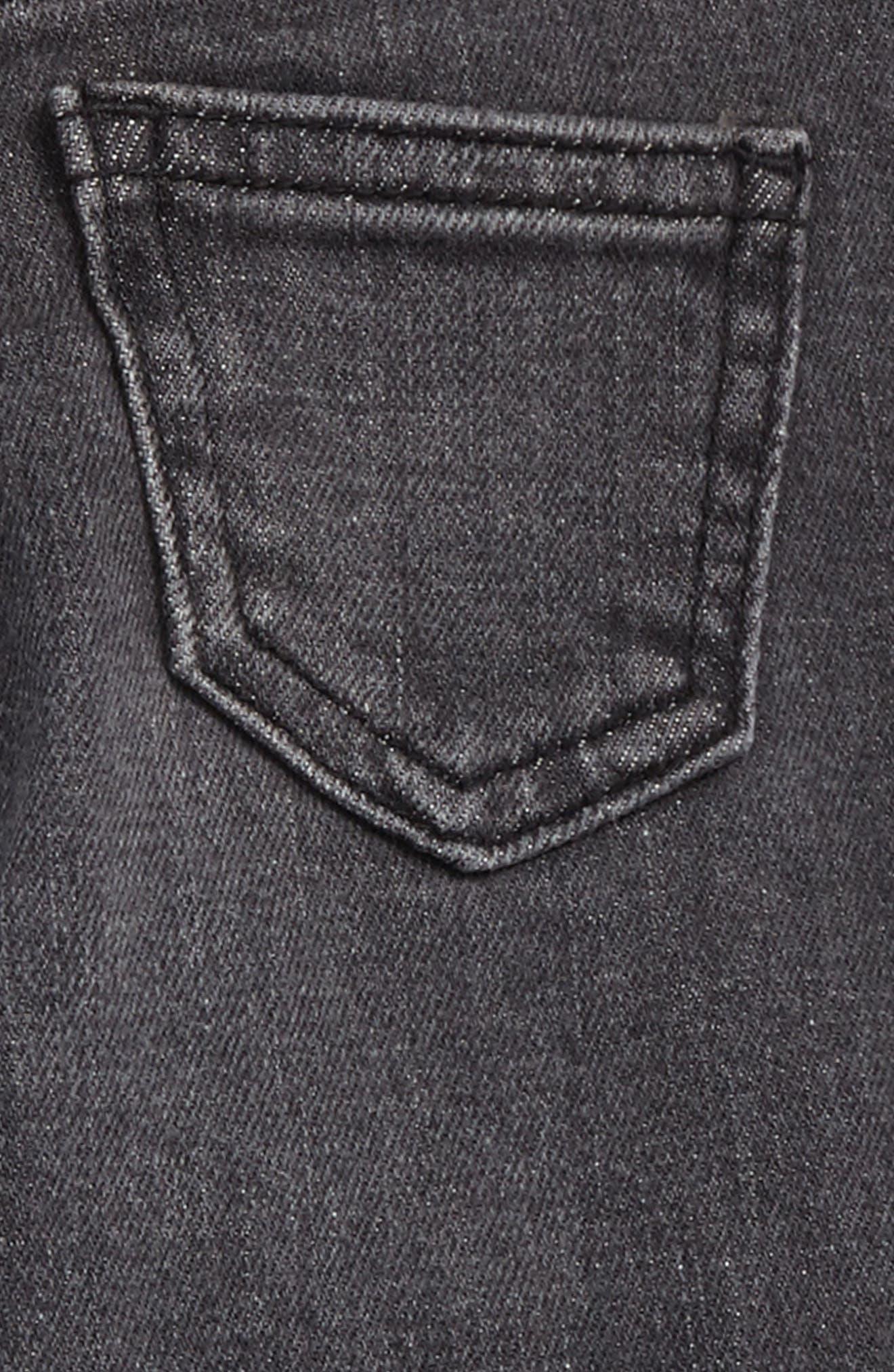 Sasha Skinny Jeans,                             Alternate thumbnail 3, color,                             Grey