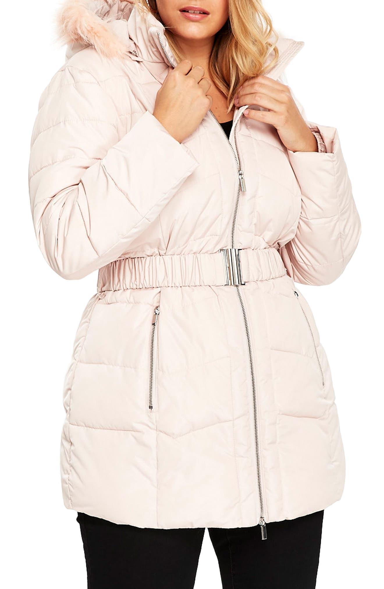 women's pink plus-size coats & jackets   nordstrom