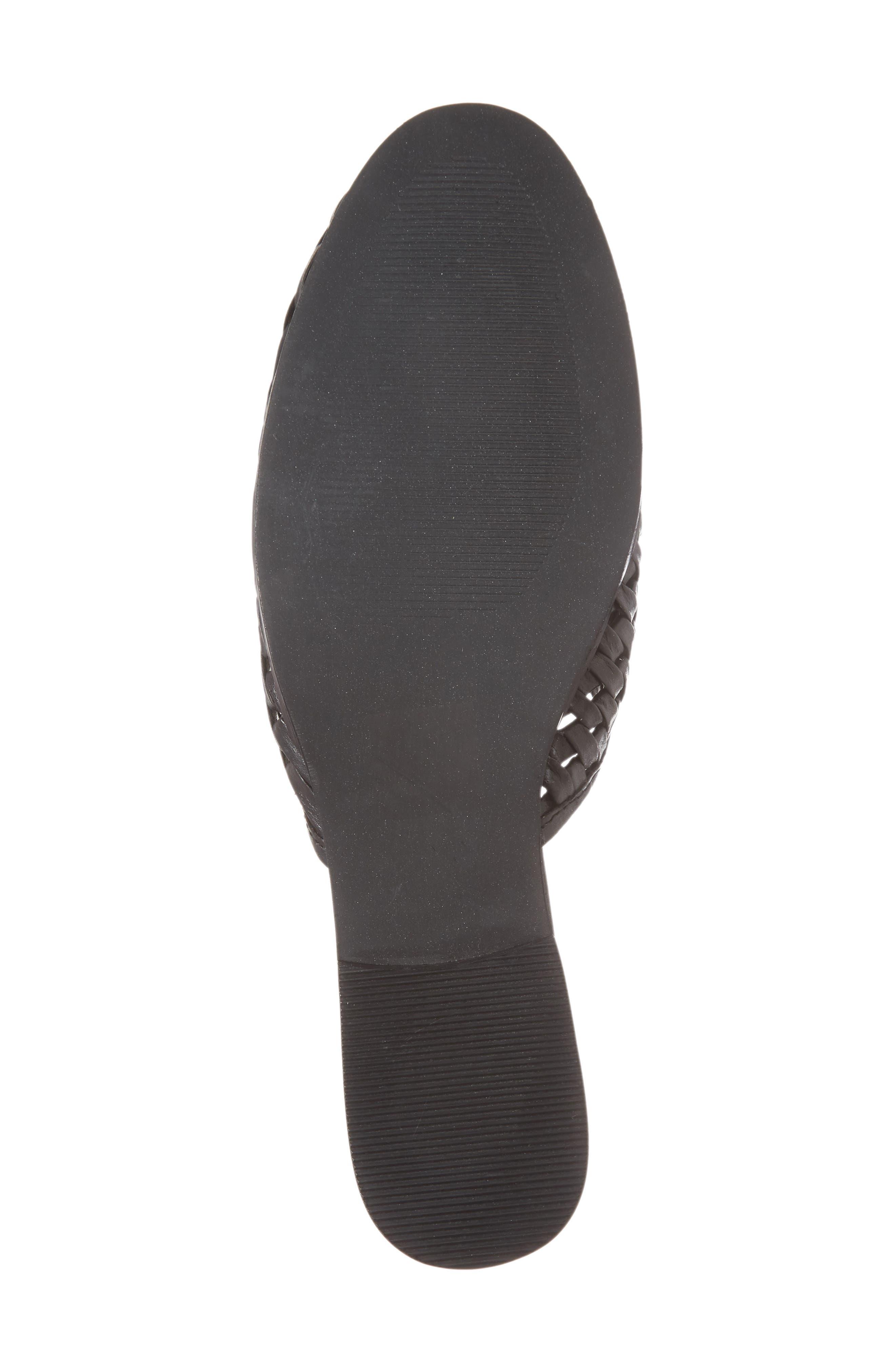 Fenix Mule,                             Alternate thumbnail 6, color,                             Black Leather
