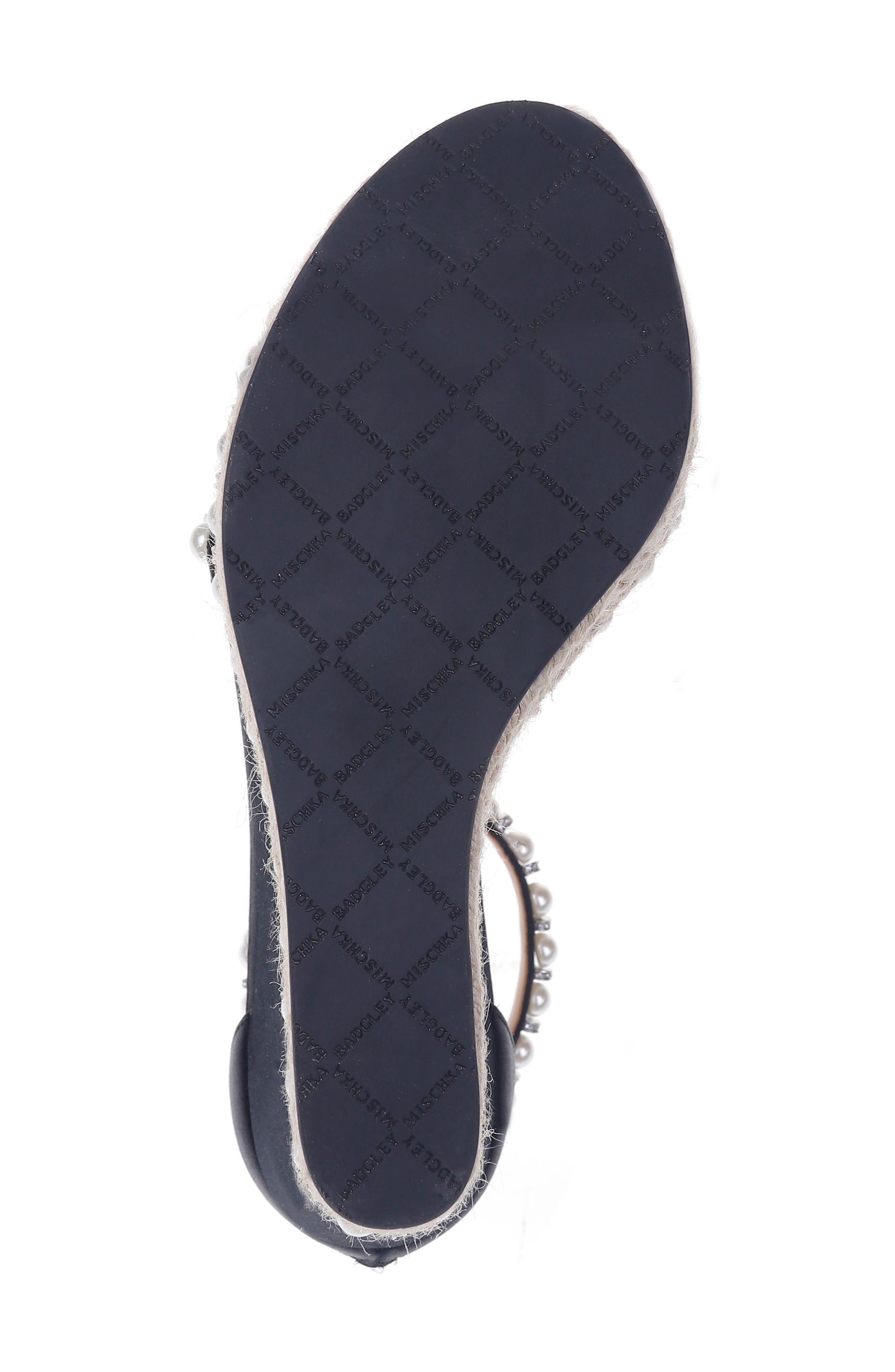 Alternate Image 6  - Badgley Mischka Sloan Wedge Sandal (Women)