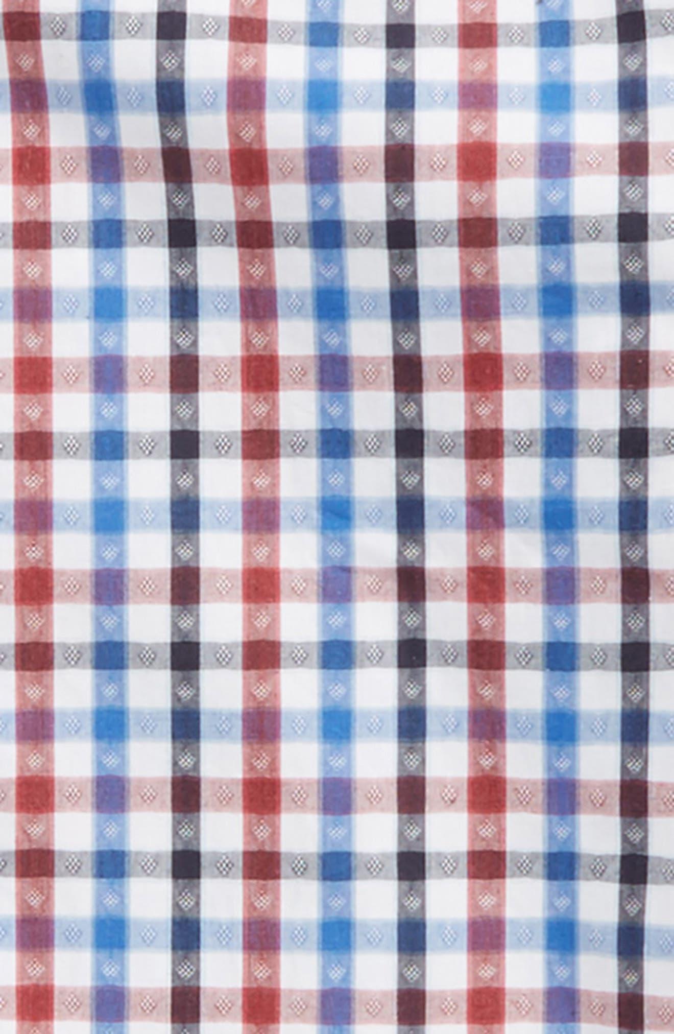 Alternate Image 2  - Thomas Dean Shadow Check Dress Shirt (Big Boys)