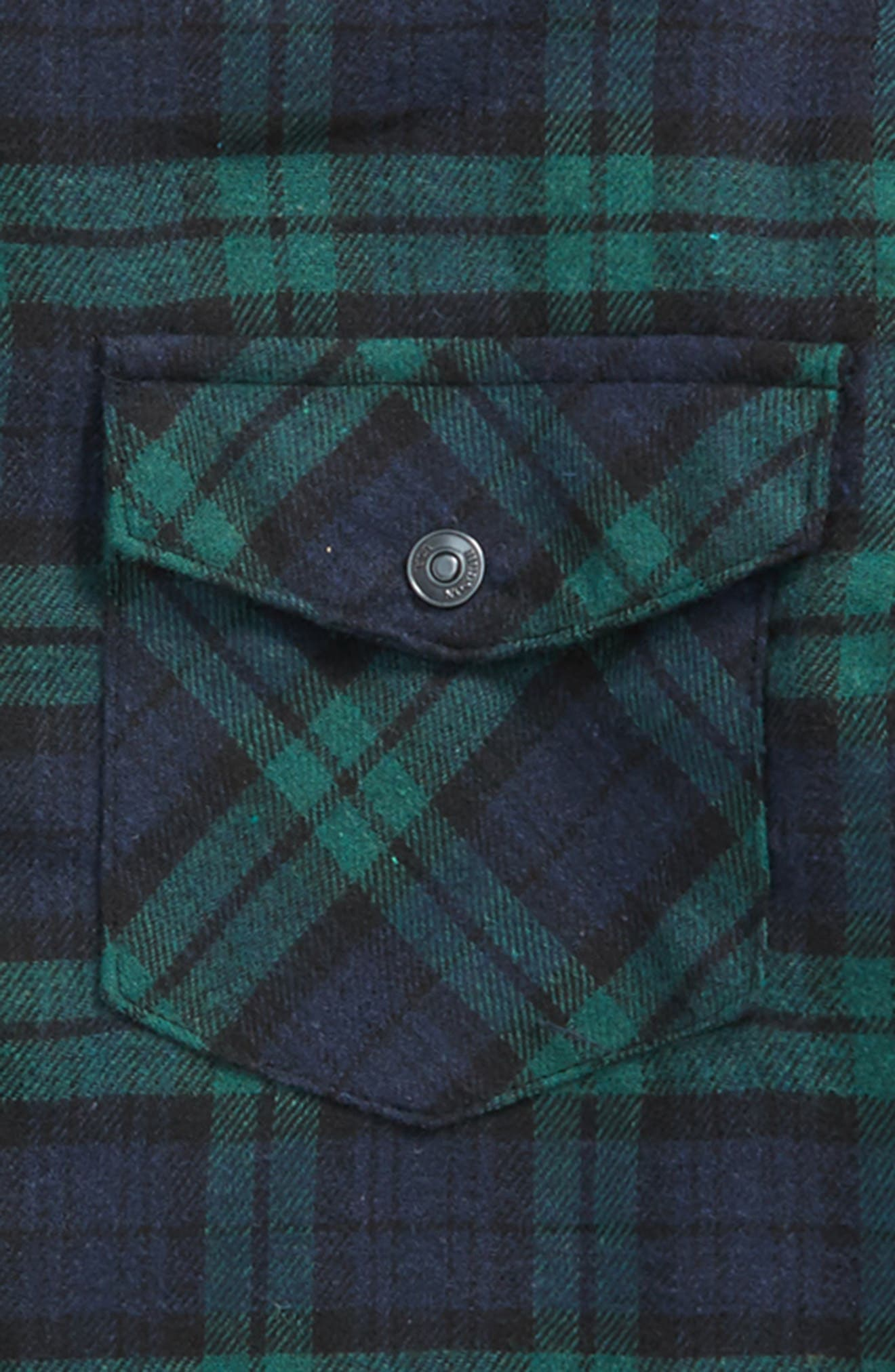 Alternate Image 2  - Hudson Jeans Check Sport Shirt (Big Boys)