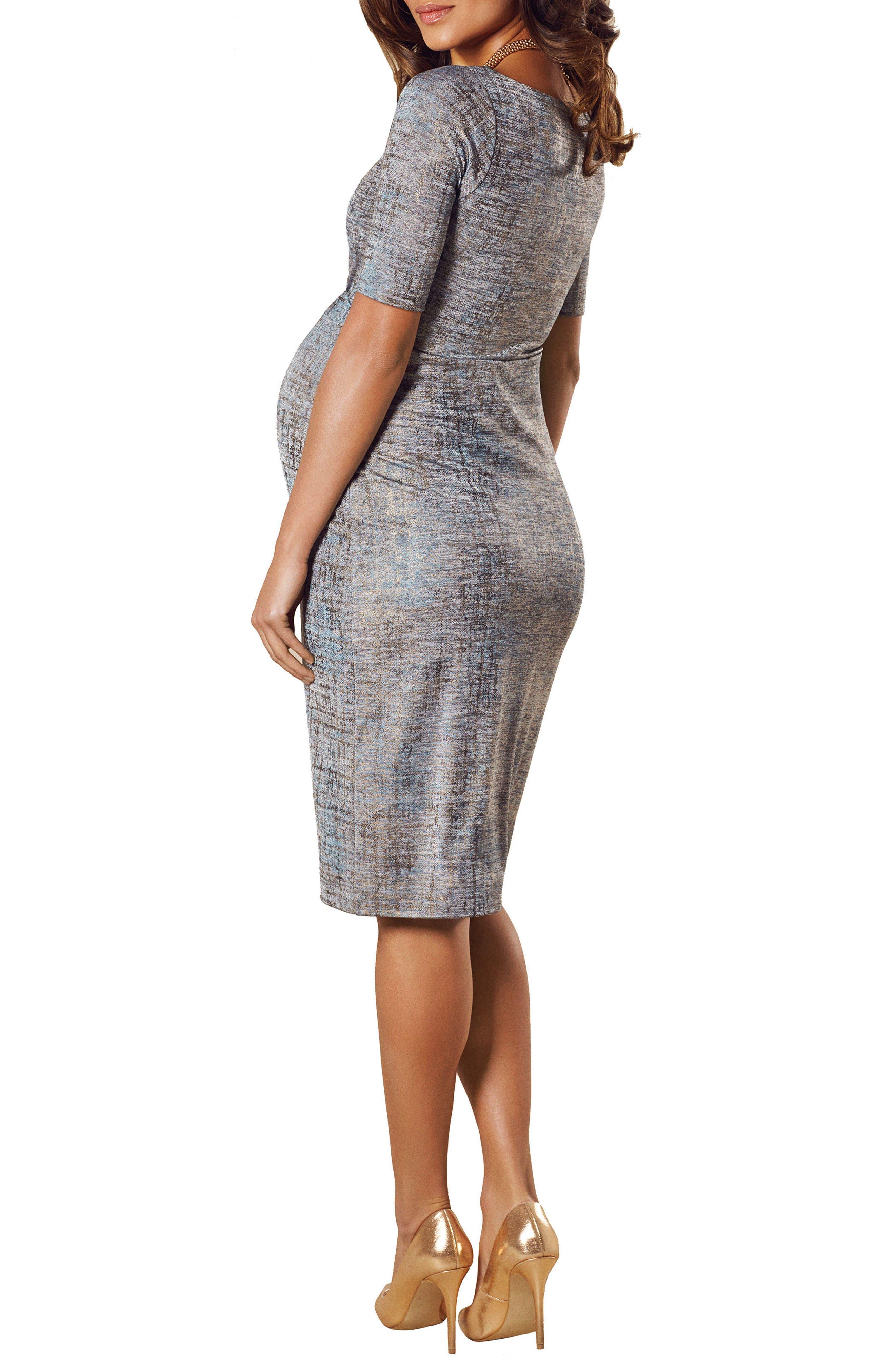 Alternate Image 2  - Tiffany Rose Anna Maternity Shift Dress