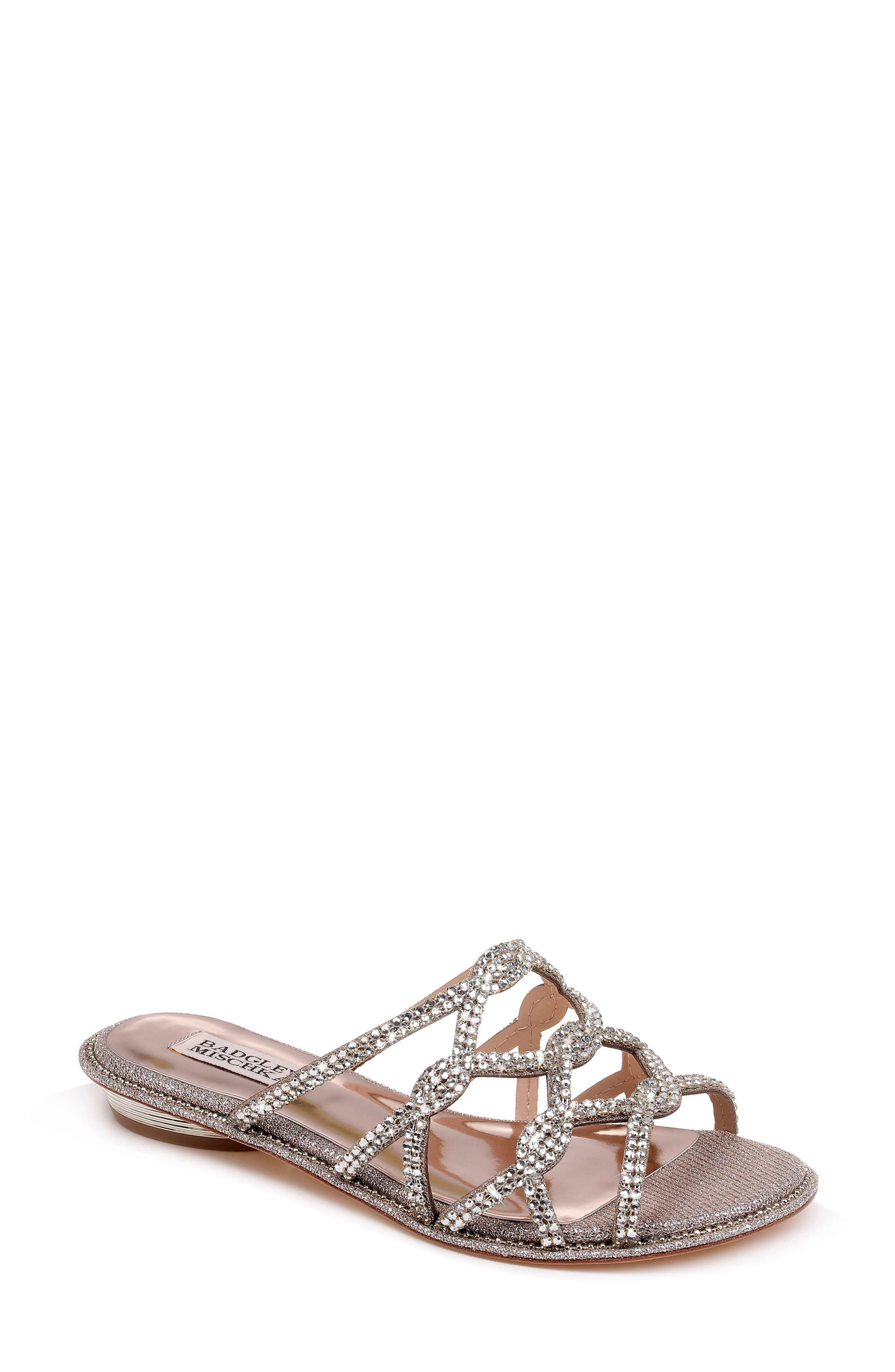 Badgley Mischka Sofie Strappy Sandal (Women)