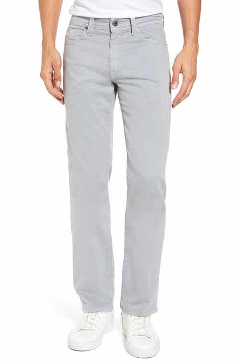 Fidelity Denim Jimmy Havana Slim Straight Leg Twill Pants f2df47781936
