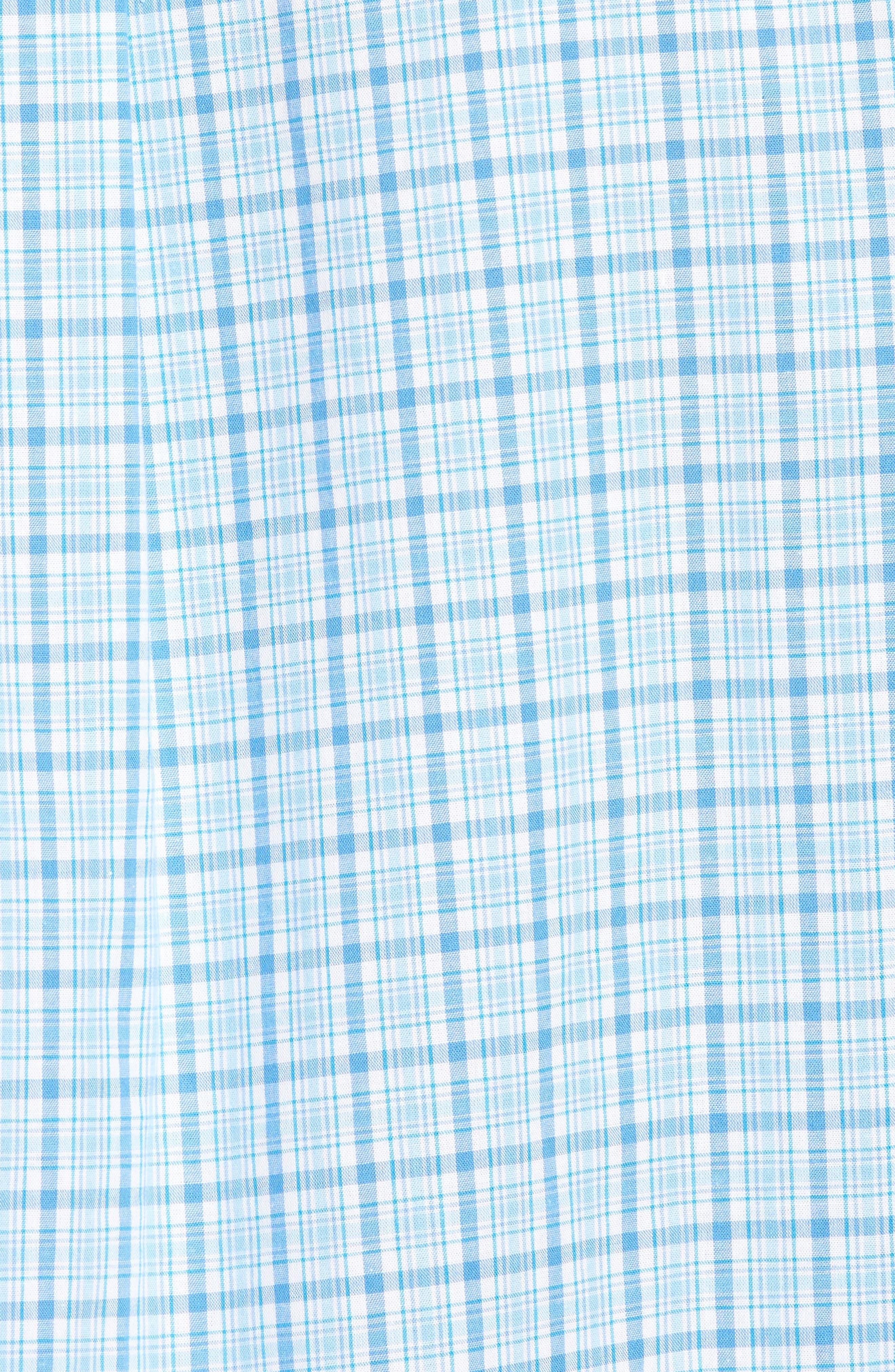 Alternate Image 5  - vineyard vines Seawatch Slim Fit Plaid Sport Shirt