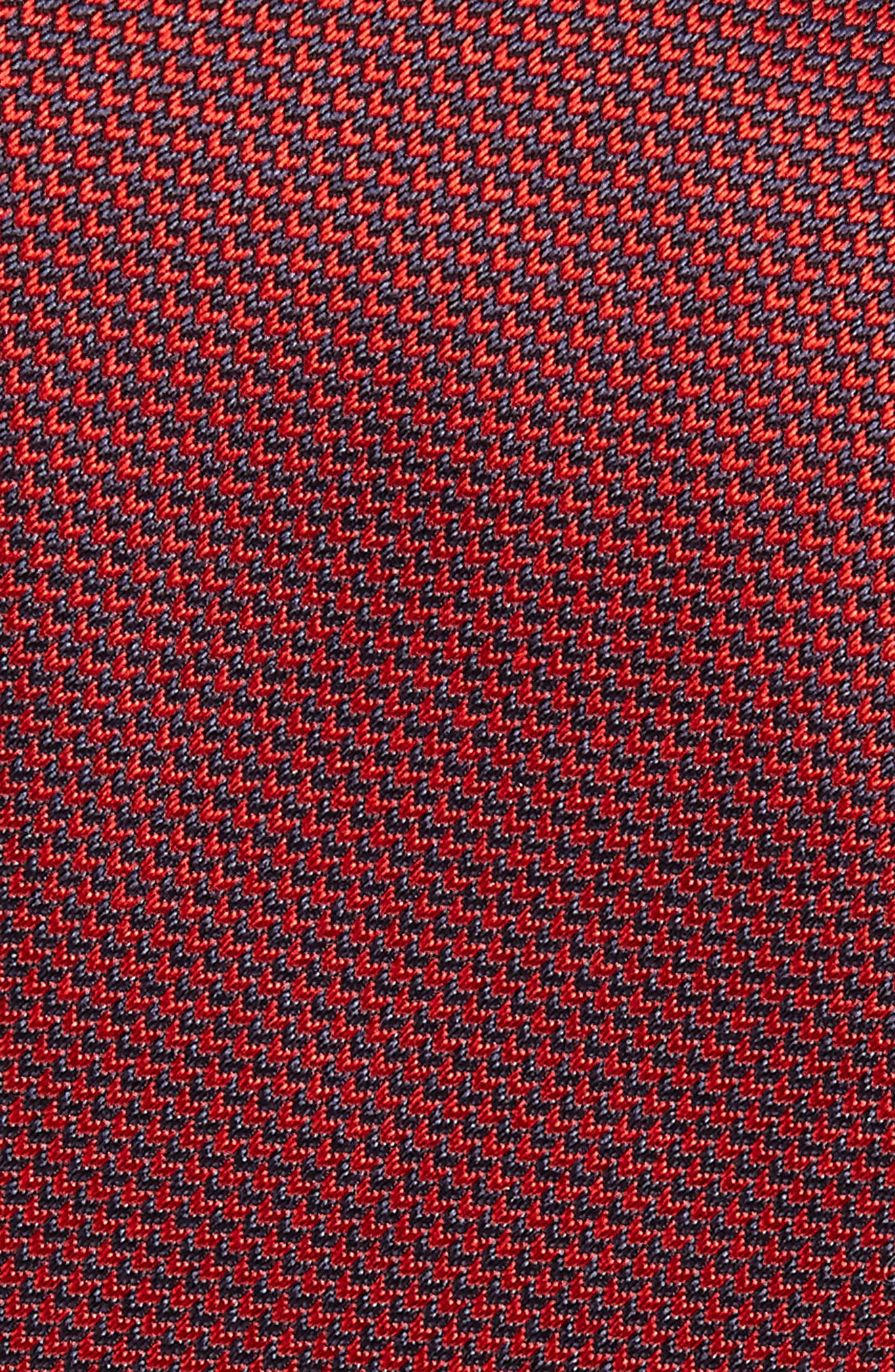 Solid Silk Tie,                             Alternate thumbnail 2, color,                             Red