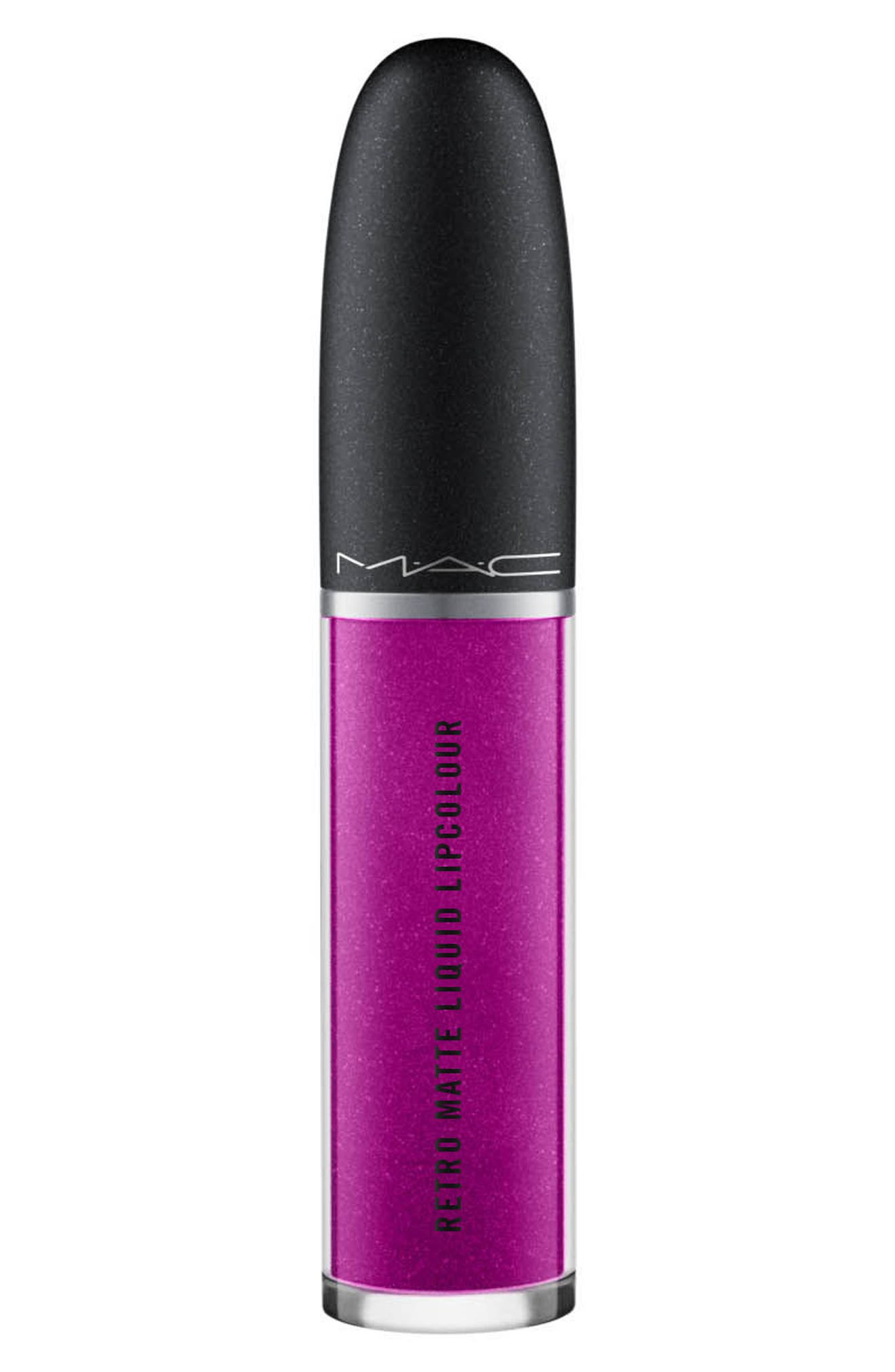MAC Retro Matte Metallic Liquid Lipcolor,                             Alternate thumbnail 4, color,                             Atomized