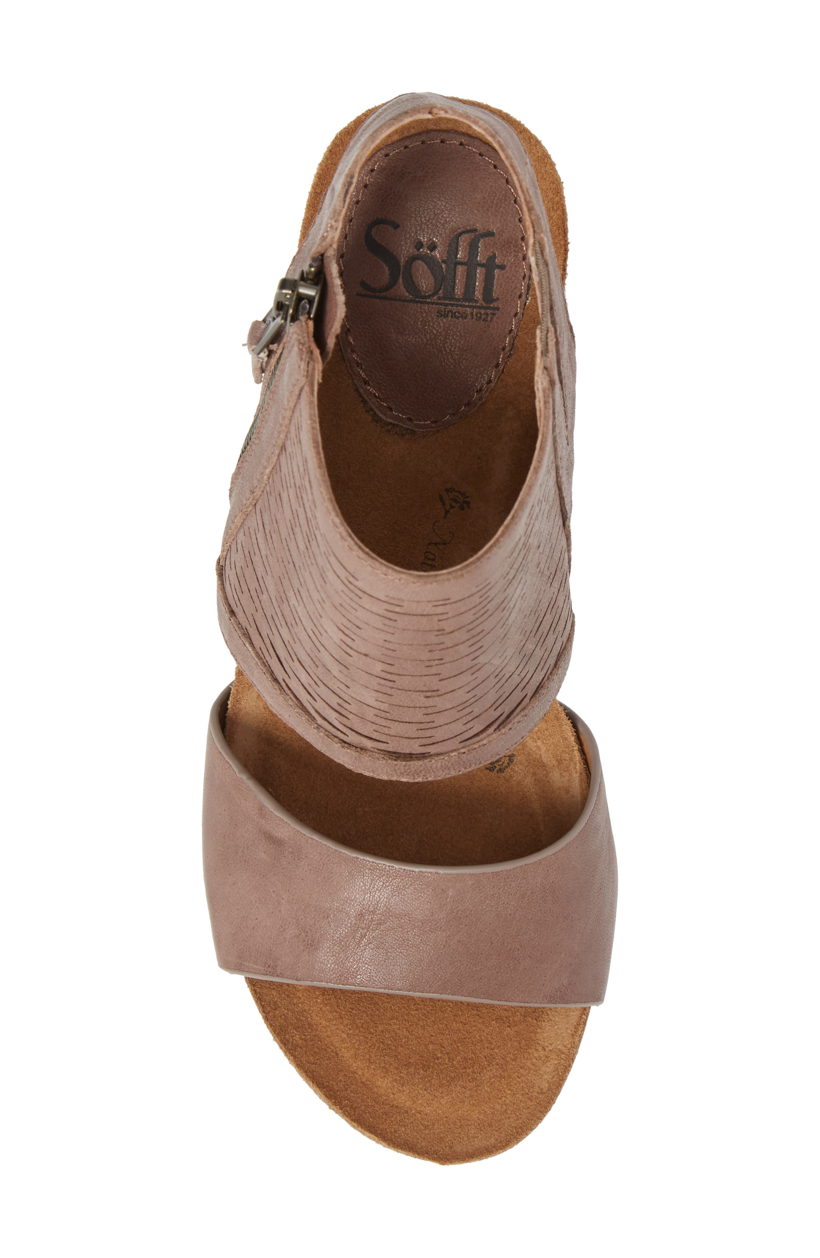 Alternate Image 5  - Söfft Milan Block Heel Sandal (Women)