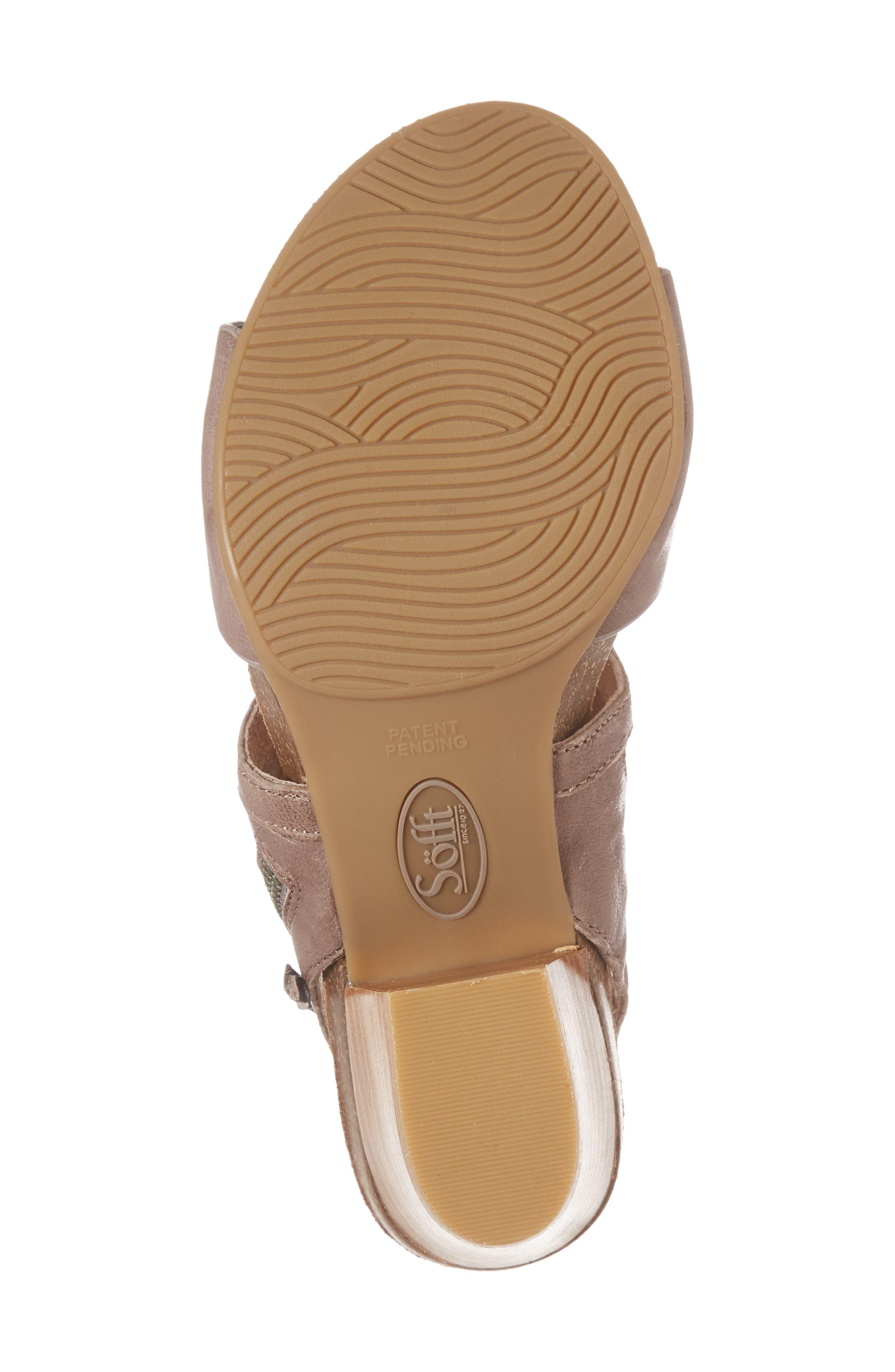 Alternate Image 6  - Söfft Milan Block Heel Sandal (Women)