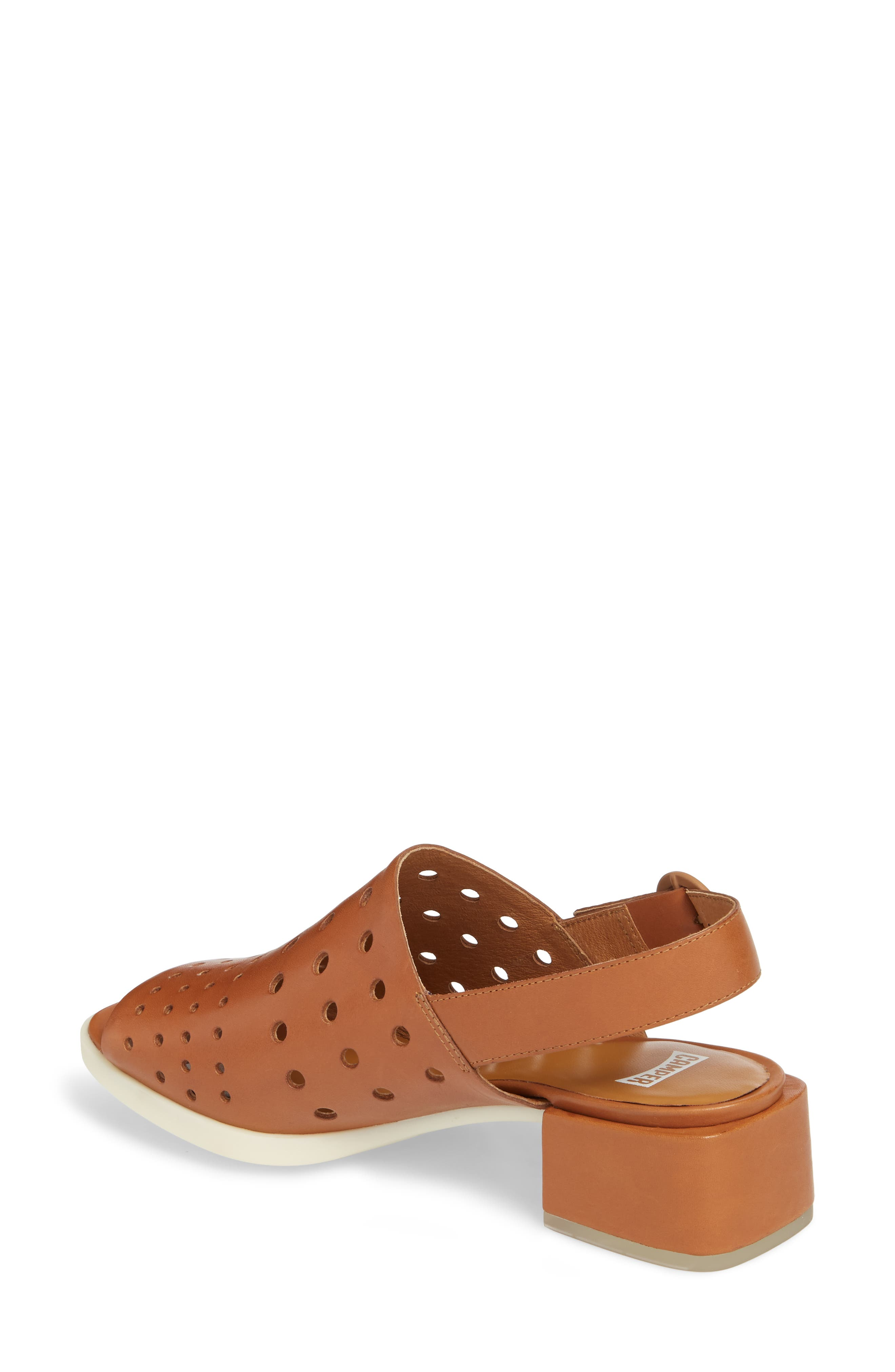 Twins Sandal,                             Alternate thumbnail 2, color,                             Rust/ Copper Leather