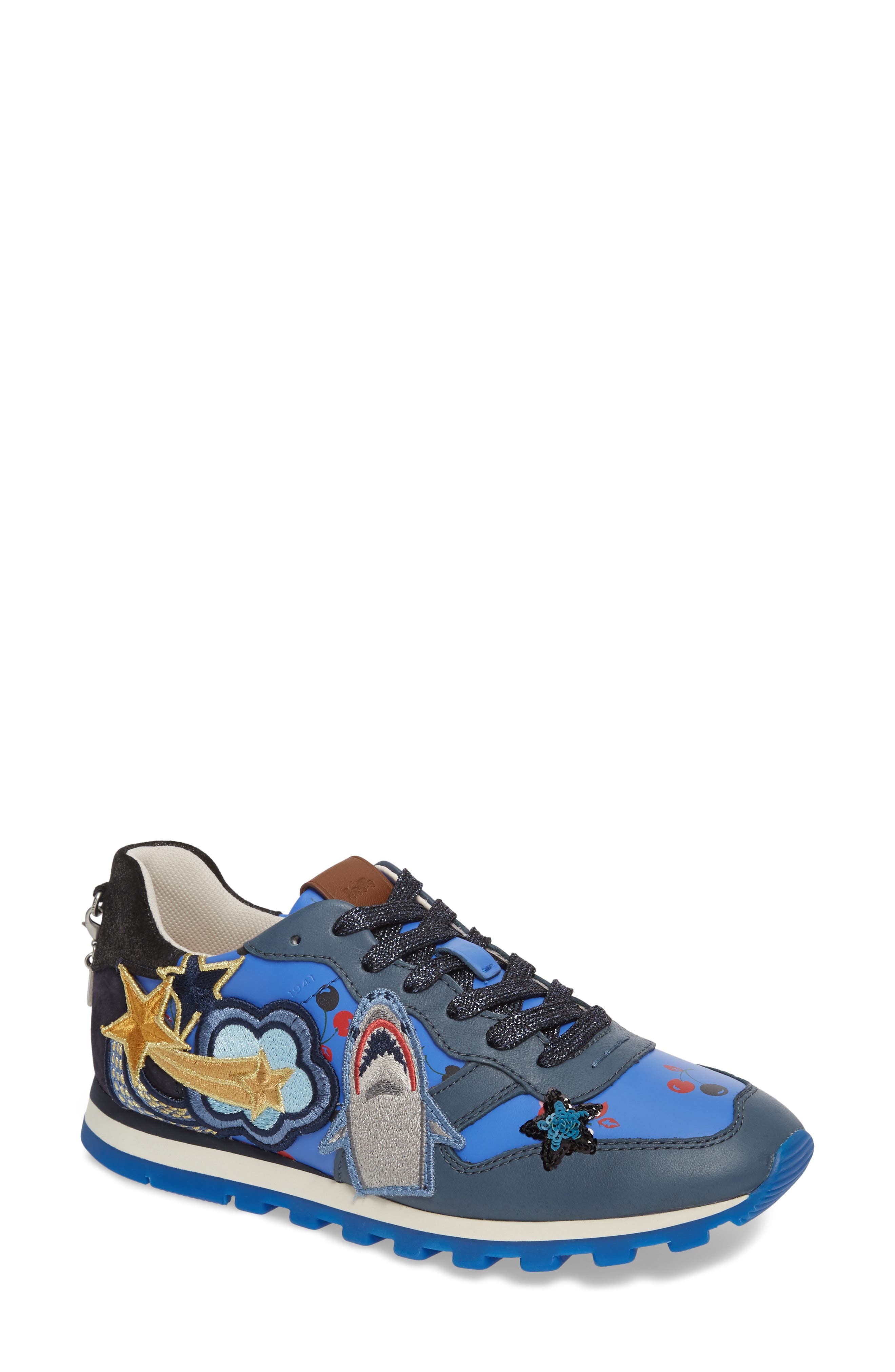 Alternate Image 1 Selected - COACH Patch Sneaker (Women)