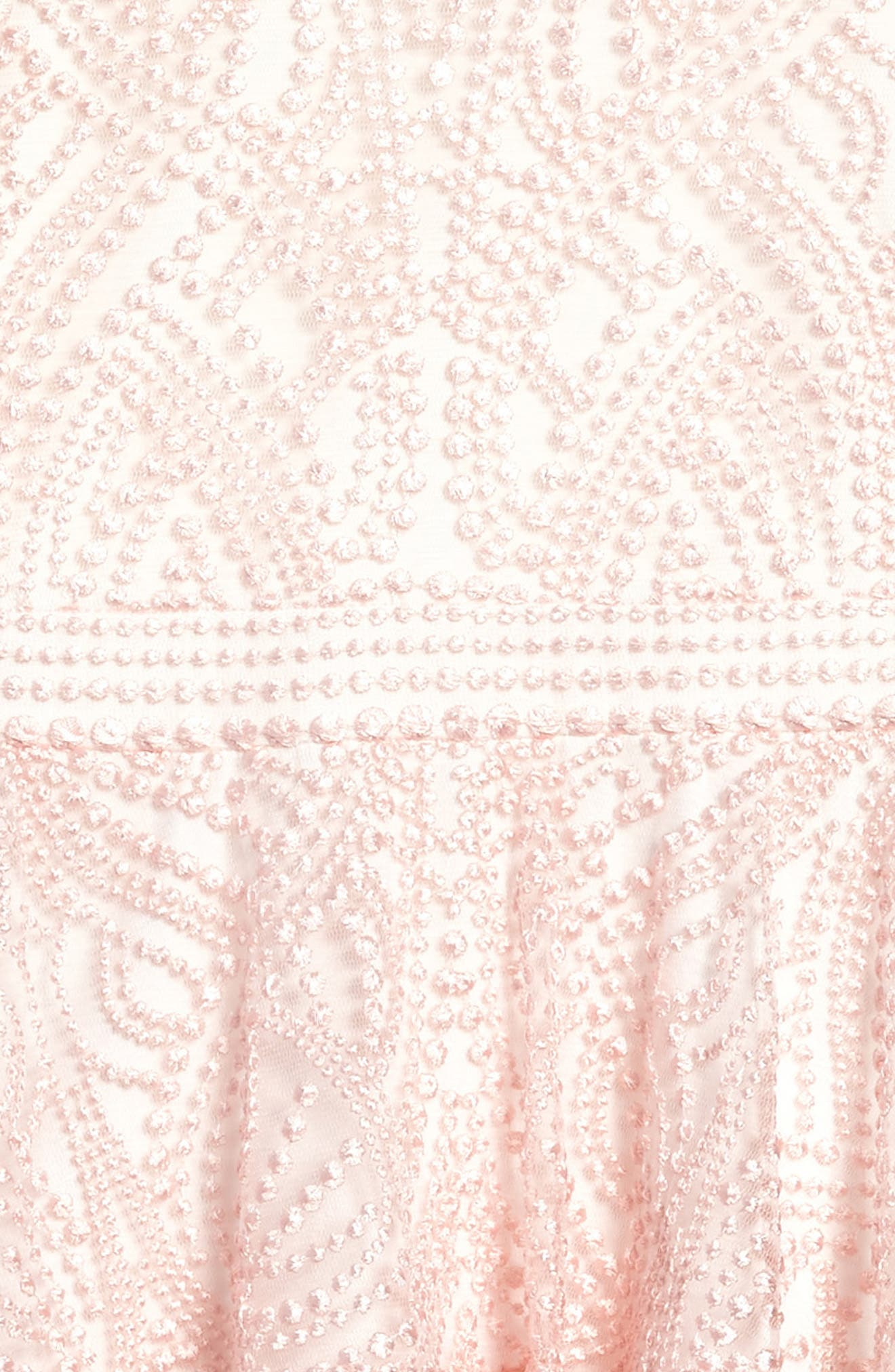 Embroidered Ruffle Dress,                             Alternate thumbnail 3, color,                             Pretty Pink