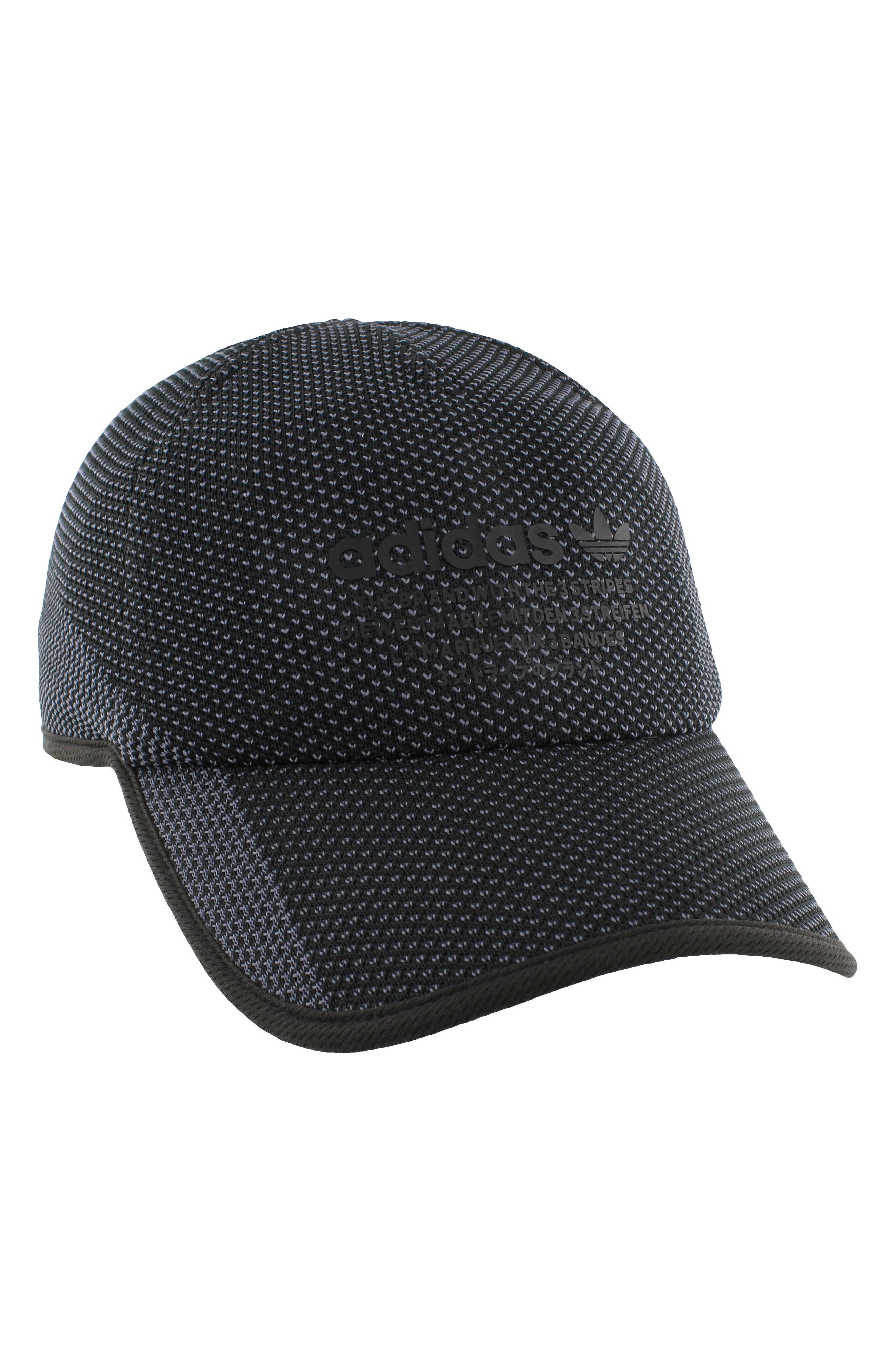 NMD Prime Ball Cap,                             Alternate thumbnail 7, color,                             Black