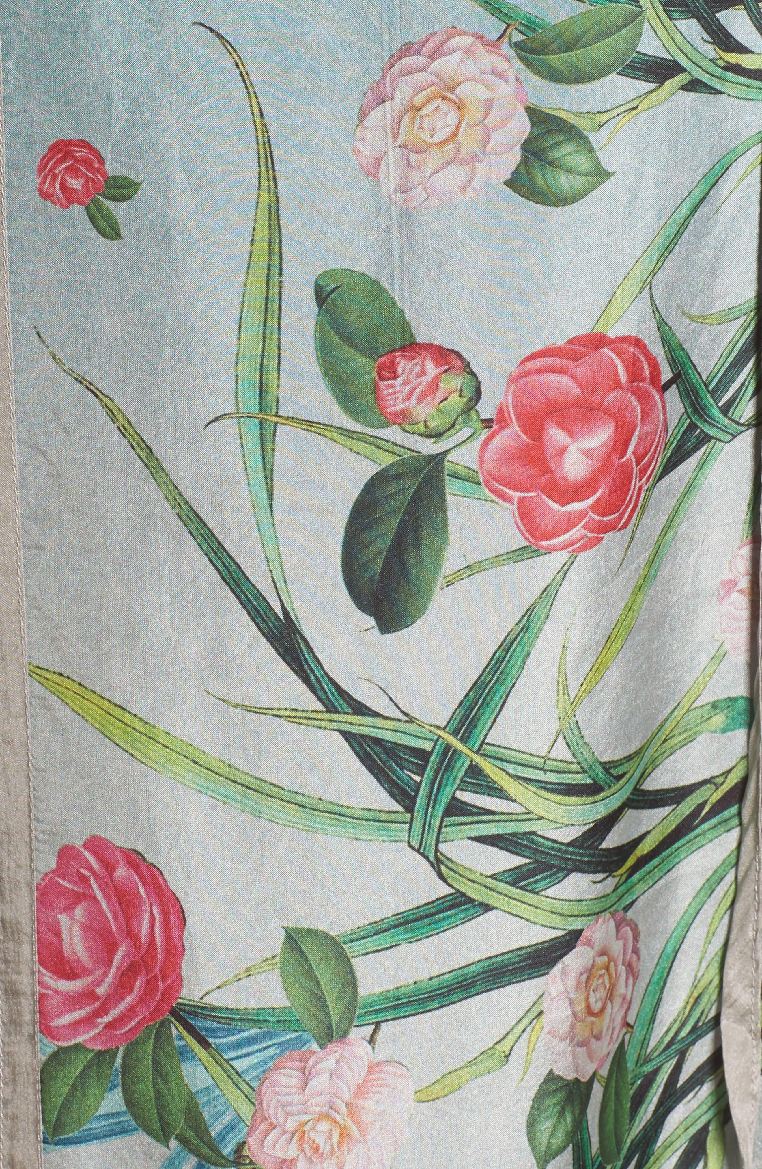 Alternate Image 5  - Johnny Was Camuba Heaven Silk Kimono Dress