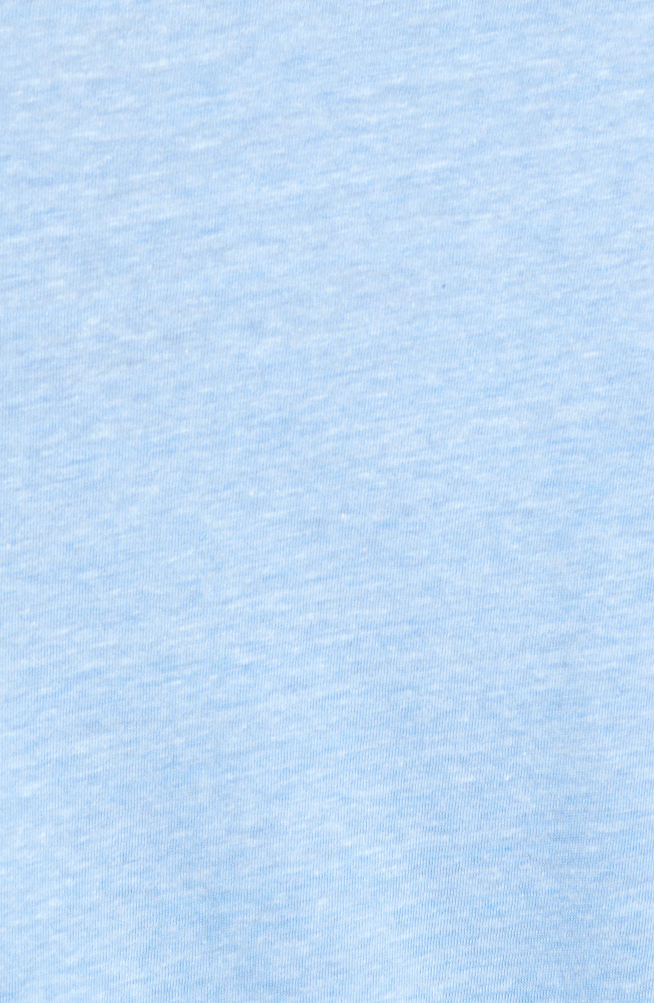 Reel Life Graphic T-Shirt,                             Alternate thumbnail 5, color,                             Dusty Blue