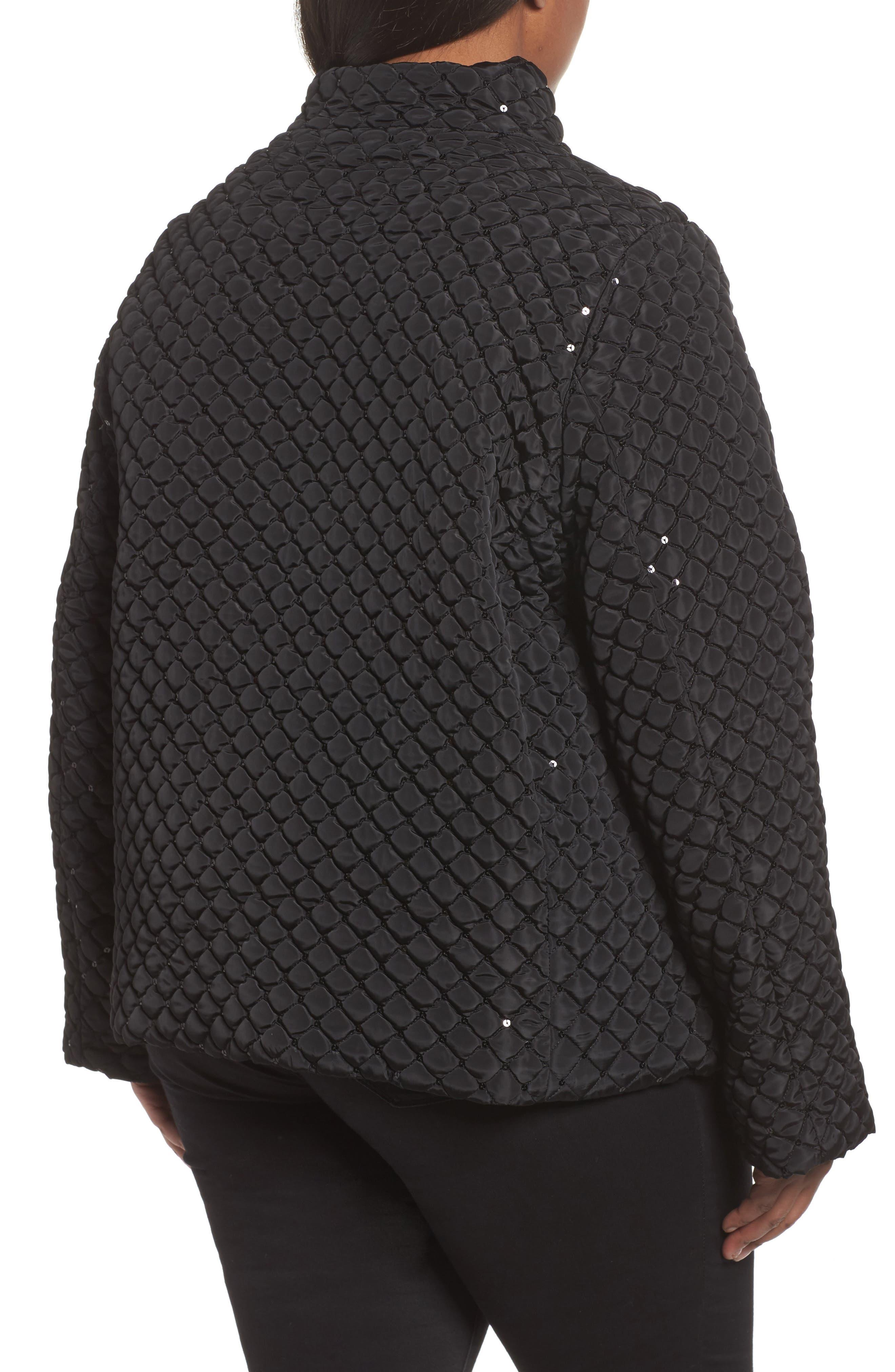 Alternate Image 2  - Persona by Marina Rinaldi Papaia Sequin Jacket (Plus Size)