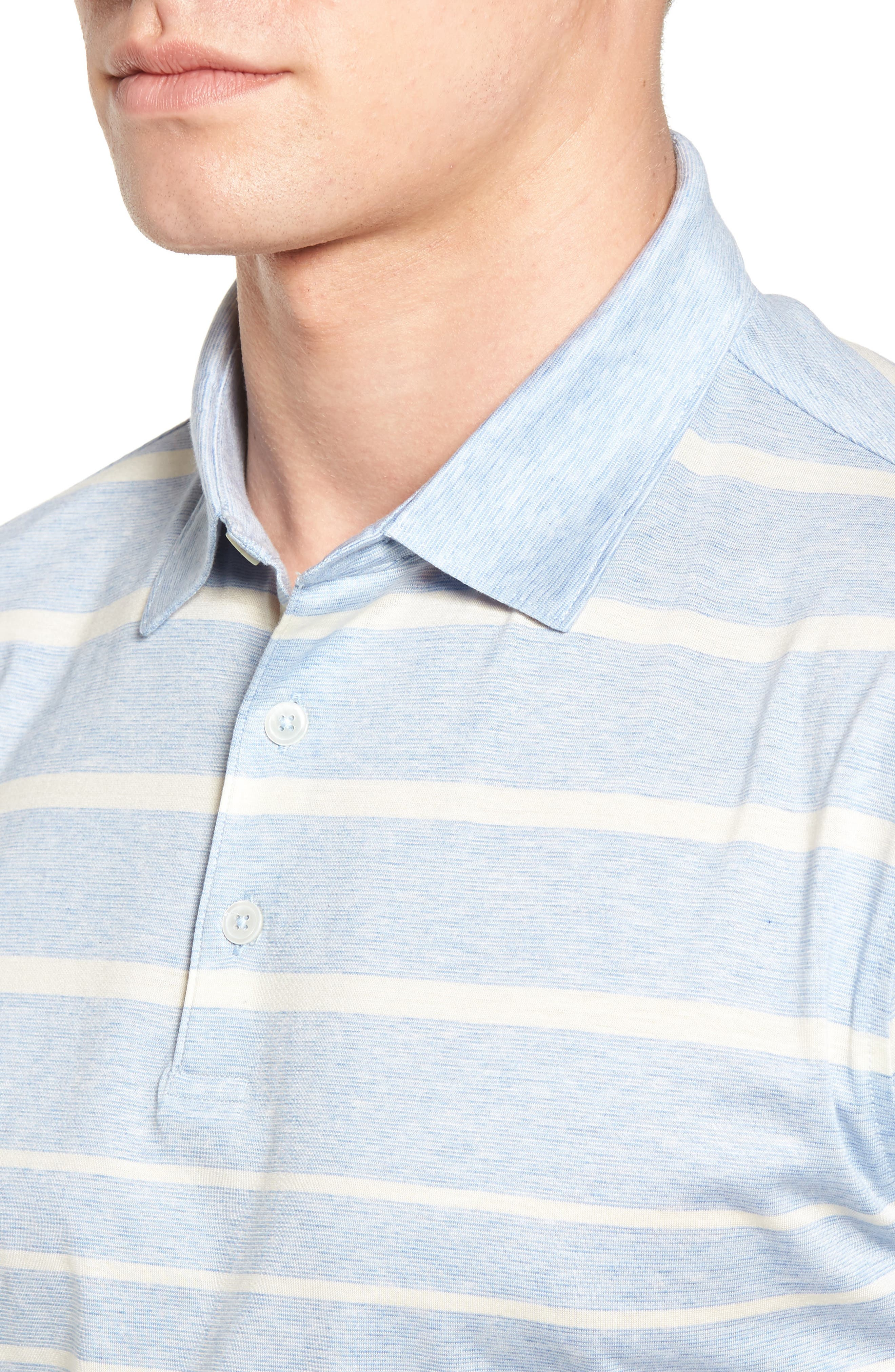 Alternate Image 4  - Peter Millar Collection Summer Swells Stripe Polo