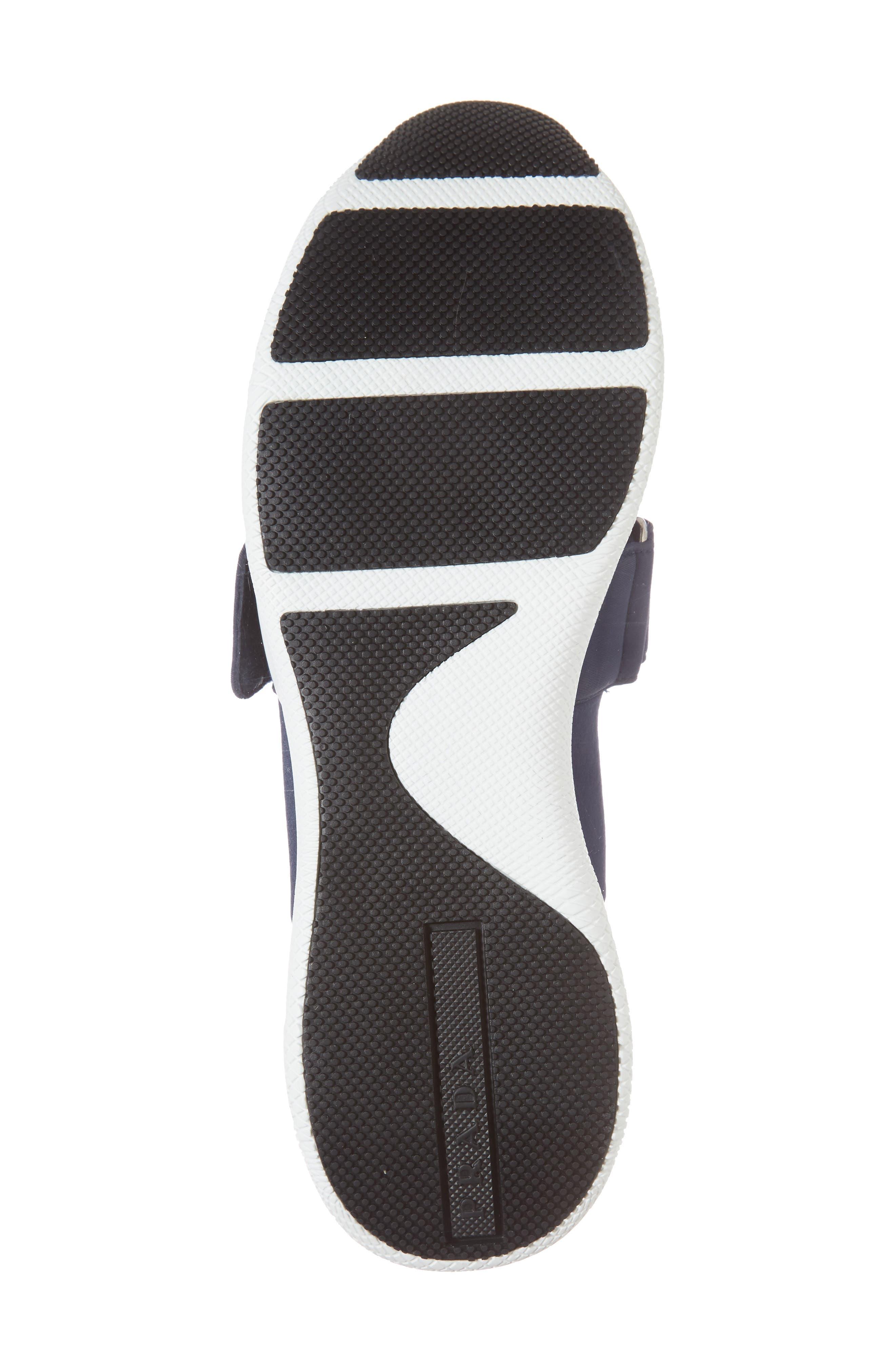 Alternate Image 6  - Prada Logo Strap Low Top Sneaker (Women)