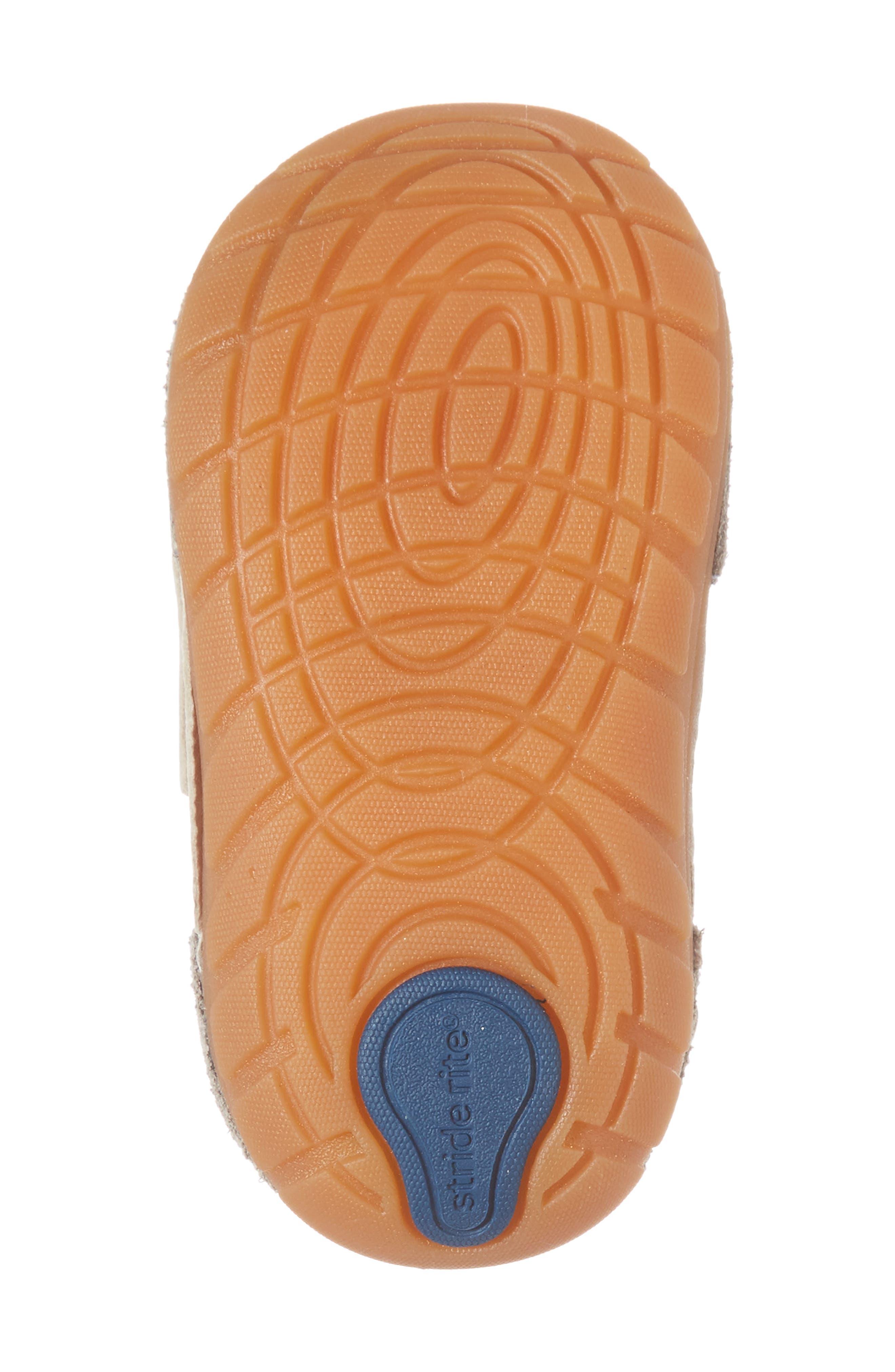 Soft Motion SRT Wyatt Sneaker,                             Alternate thumbnail 6, color,                             Stone Leather